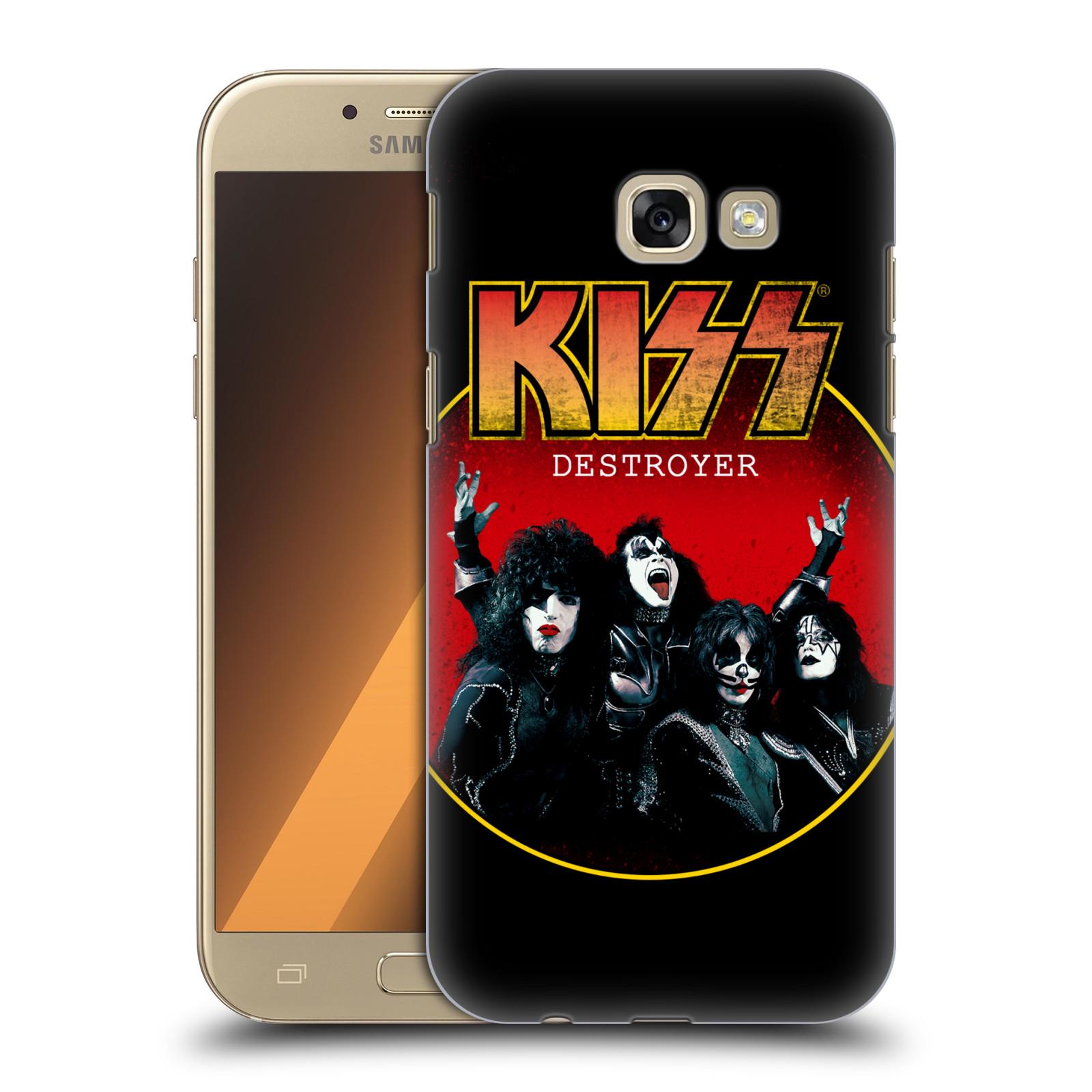 Plastové pouzdro na mobil Samsung Galaxy A5 (2017) HEAD CASE - Kiss - Destroyer