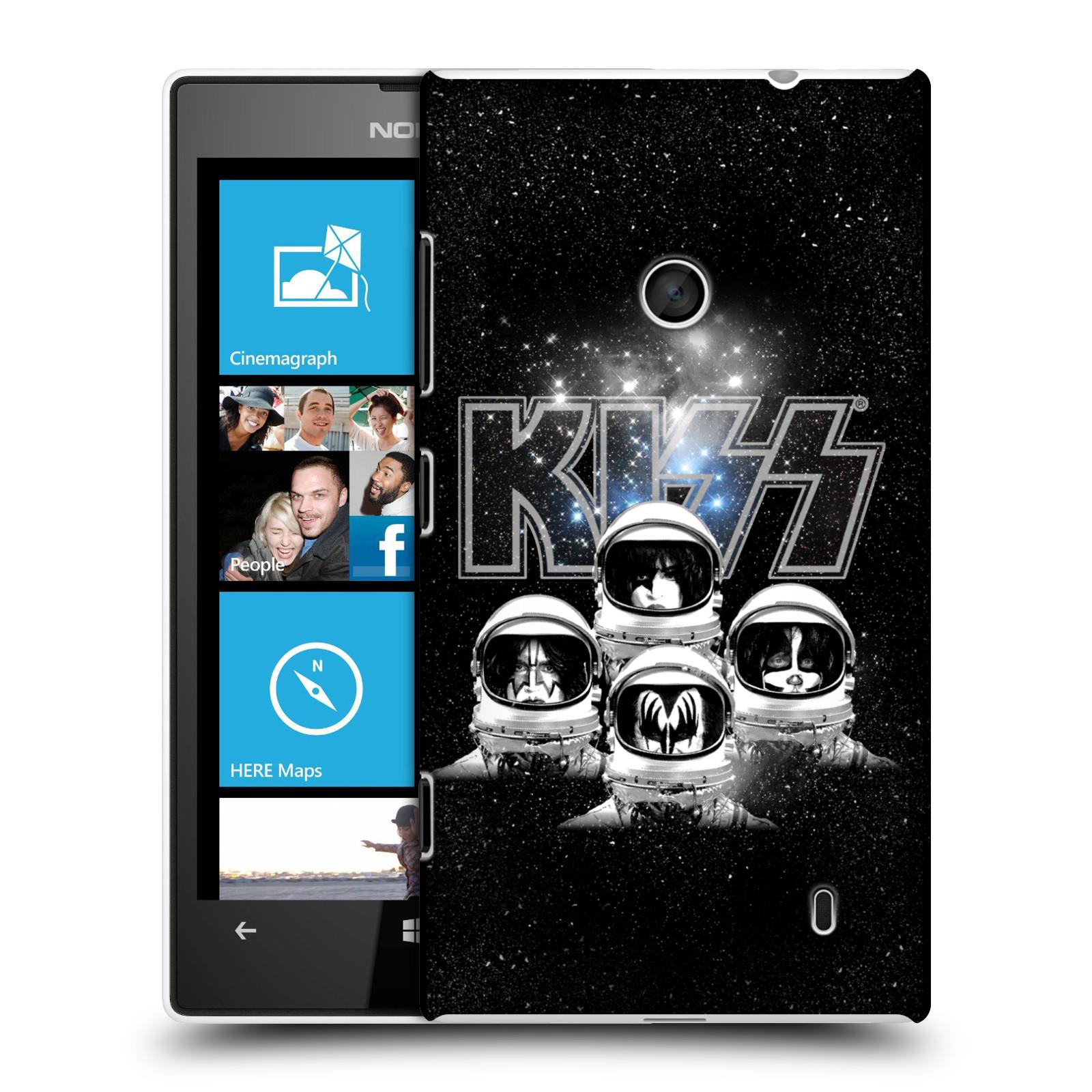 Plastové pouzdro na mobil Nokia Lumia 520 HEAD CASE - Kiss - Galactic