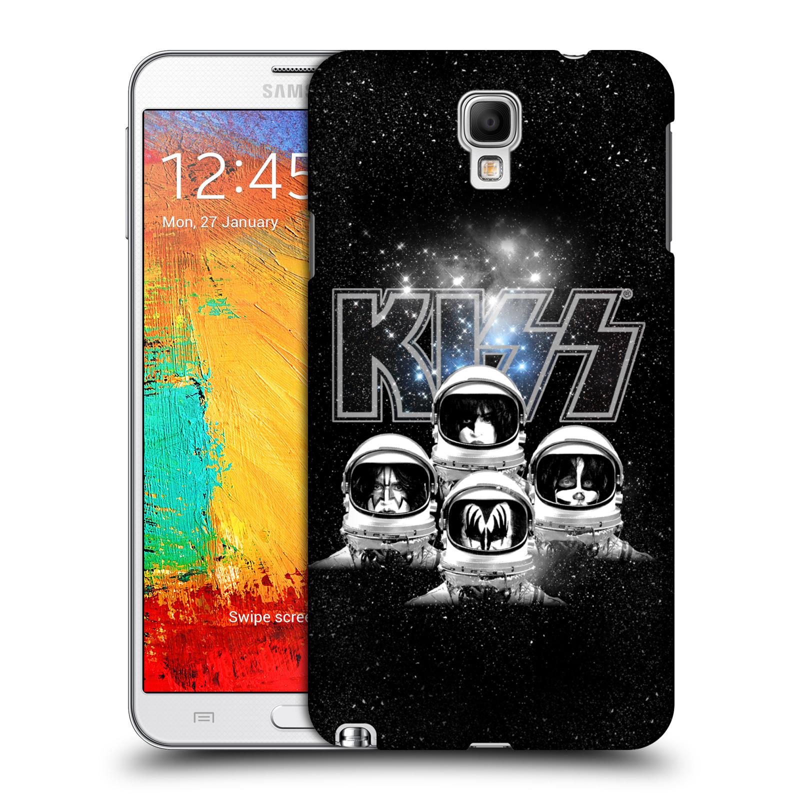 Plastové pouzdro na mobil Samsung Galaxy Note 3 Neo HEAD CASE - Kiss - Galactic