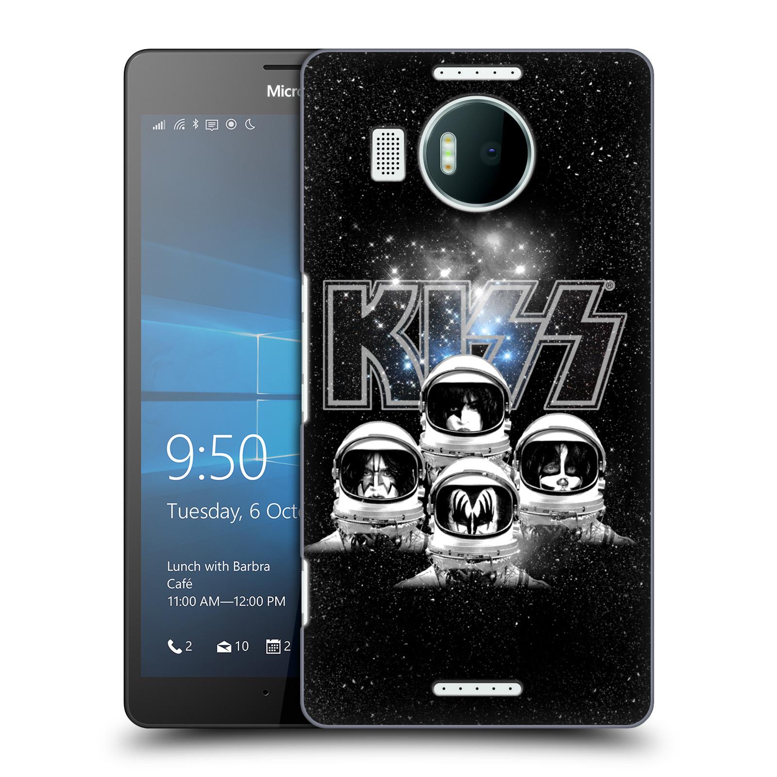 Plastové pouzdro na mobil Microsoft Lumia 950 XL HEAD CASE - Kiss - Galactic
