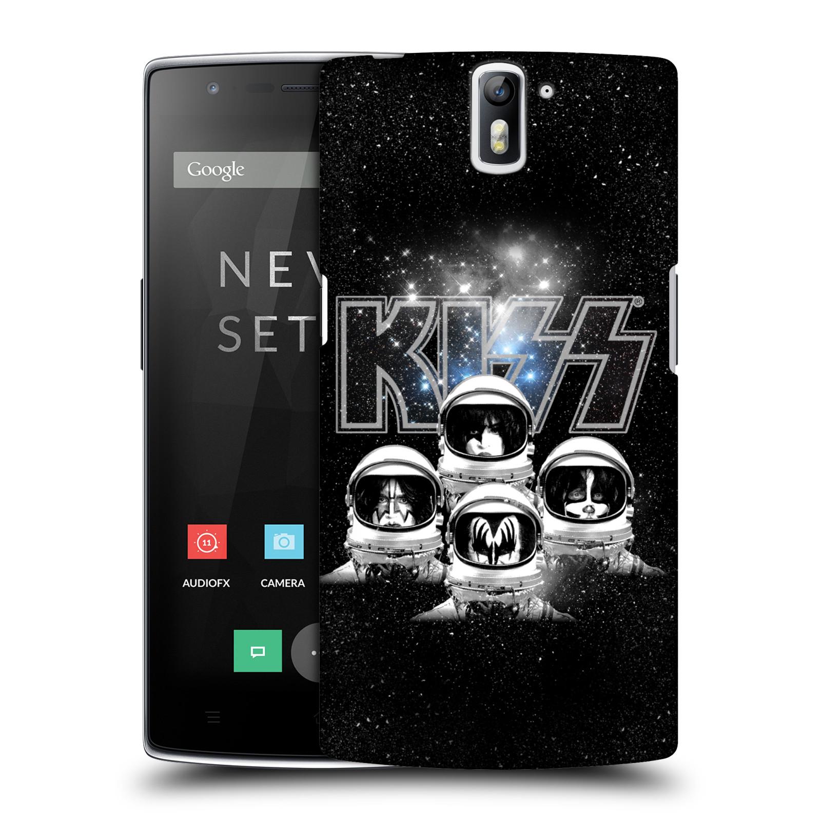 Plastové pouzdro na mobil OnePlus One HEAD CASE - Kiss - Galactic