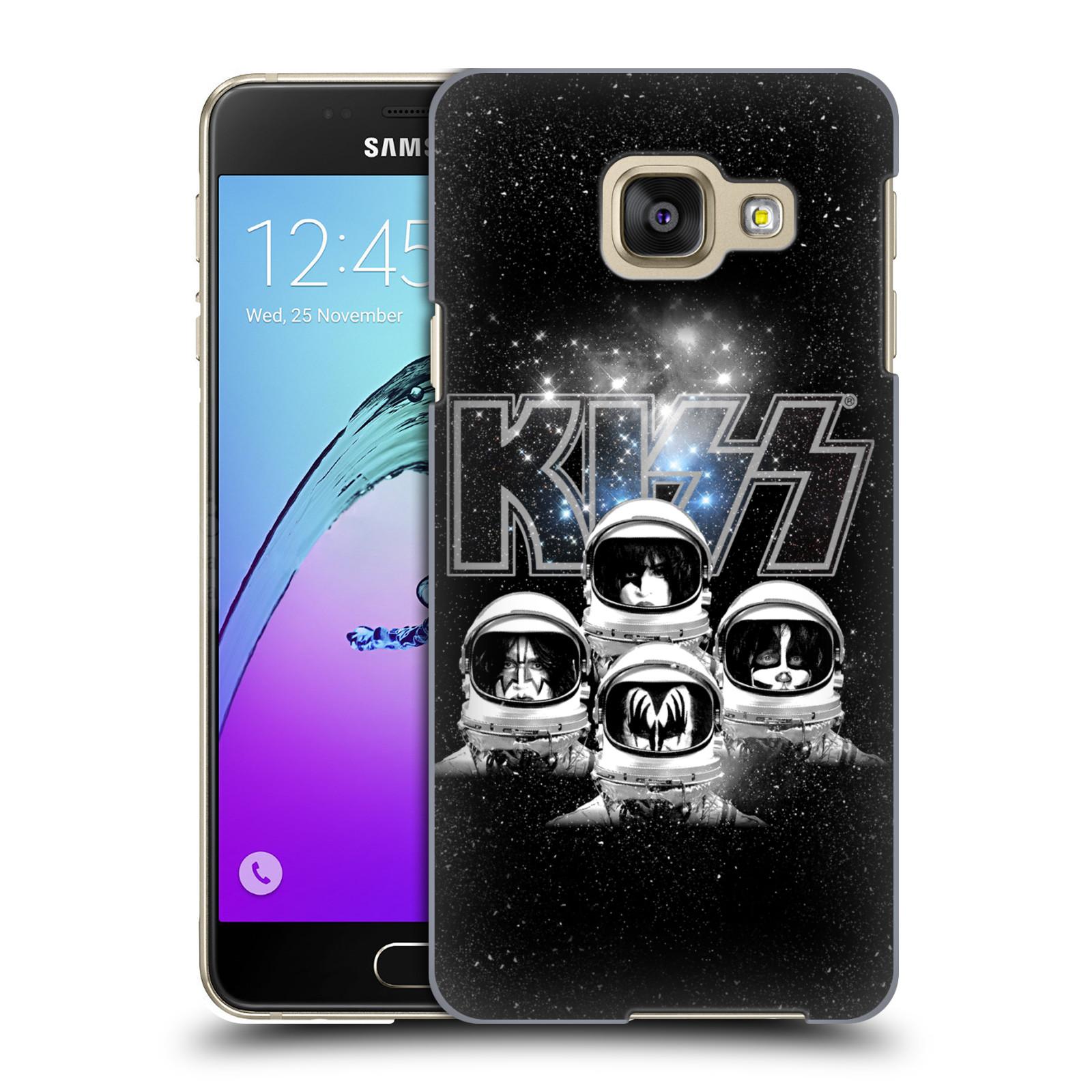 Plastové pouzdro na mobil Samsung Galaxy A3 (2016) HEAD CASE - Kiss - Galactic