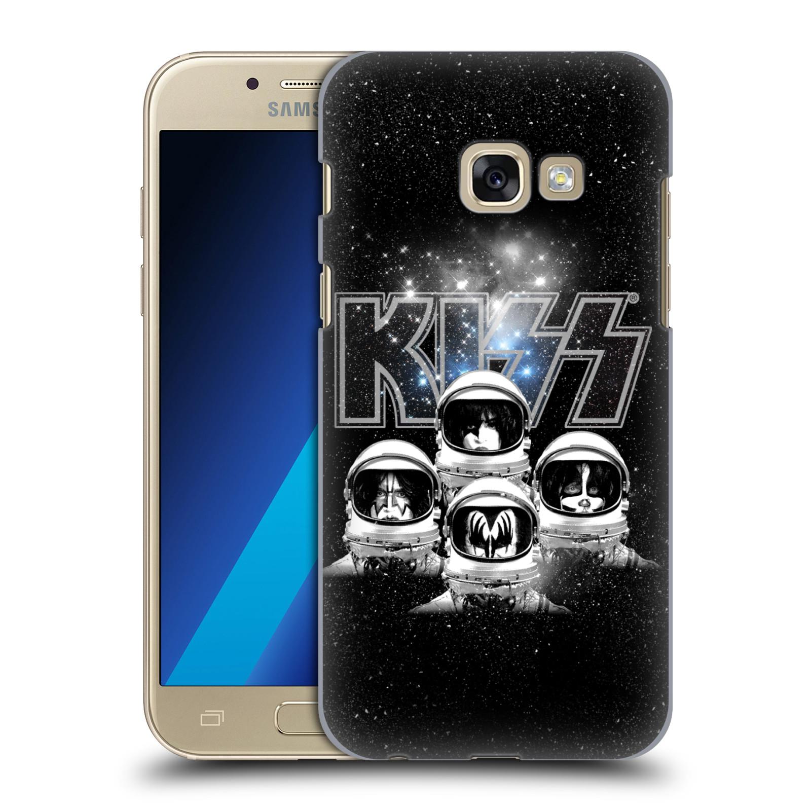 Plastové pouzdro na mobil Samsung Galaxy A3 (2017) HEAD CASE - Kiss - Galactic