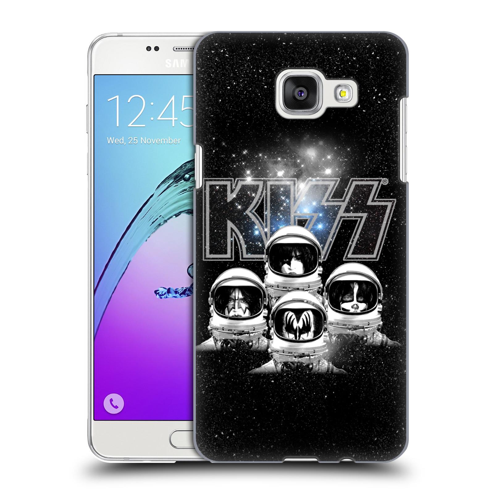 Plastové pouzdro na mobil Samsung Galaxy A5 (2016) HEAD CASE - Kiss - Galactic
