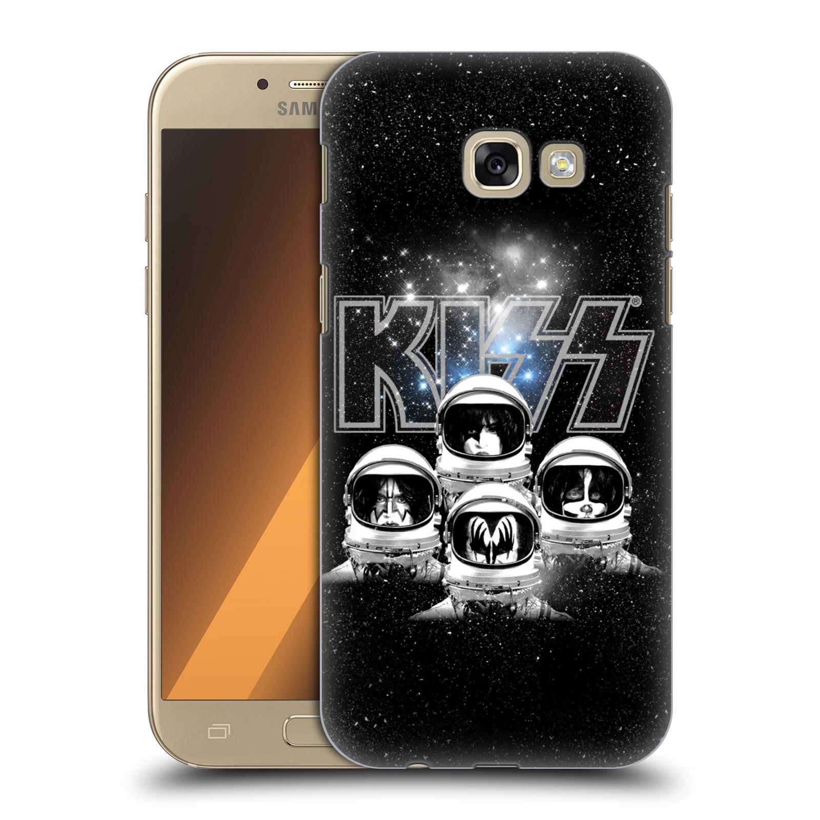 Plastové pouzdro na mobil Samsung Galaxy A5 (2017) HEAD CASE - Kiss - Galactic