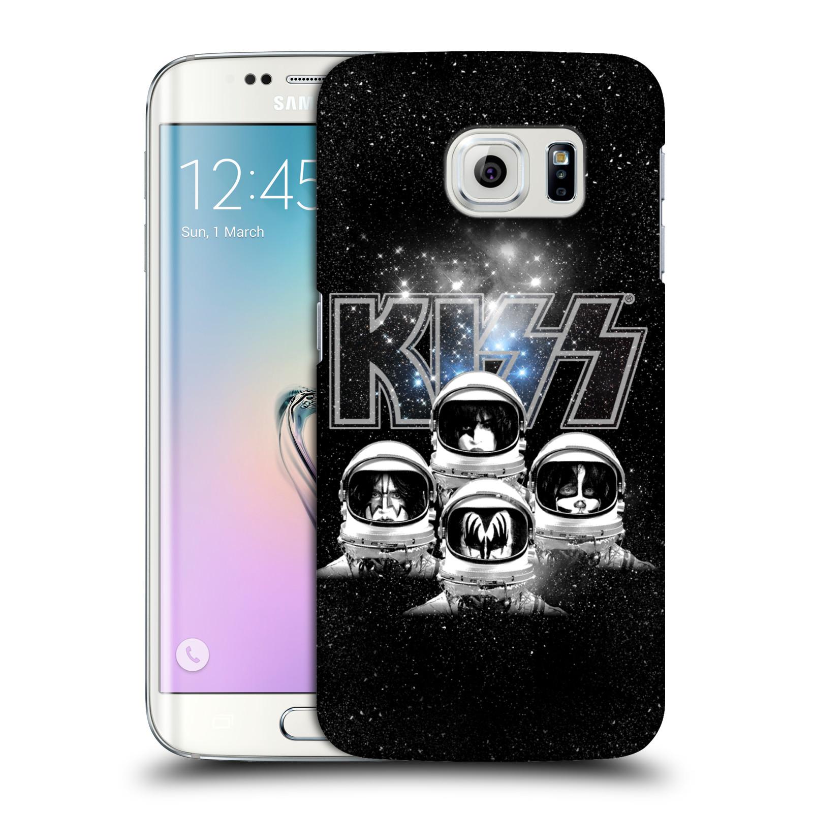 Plastové pouzdro na mobil Samsung Galaxy S6 Edge HEAD CASE - Kiss - Galactic