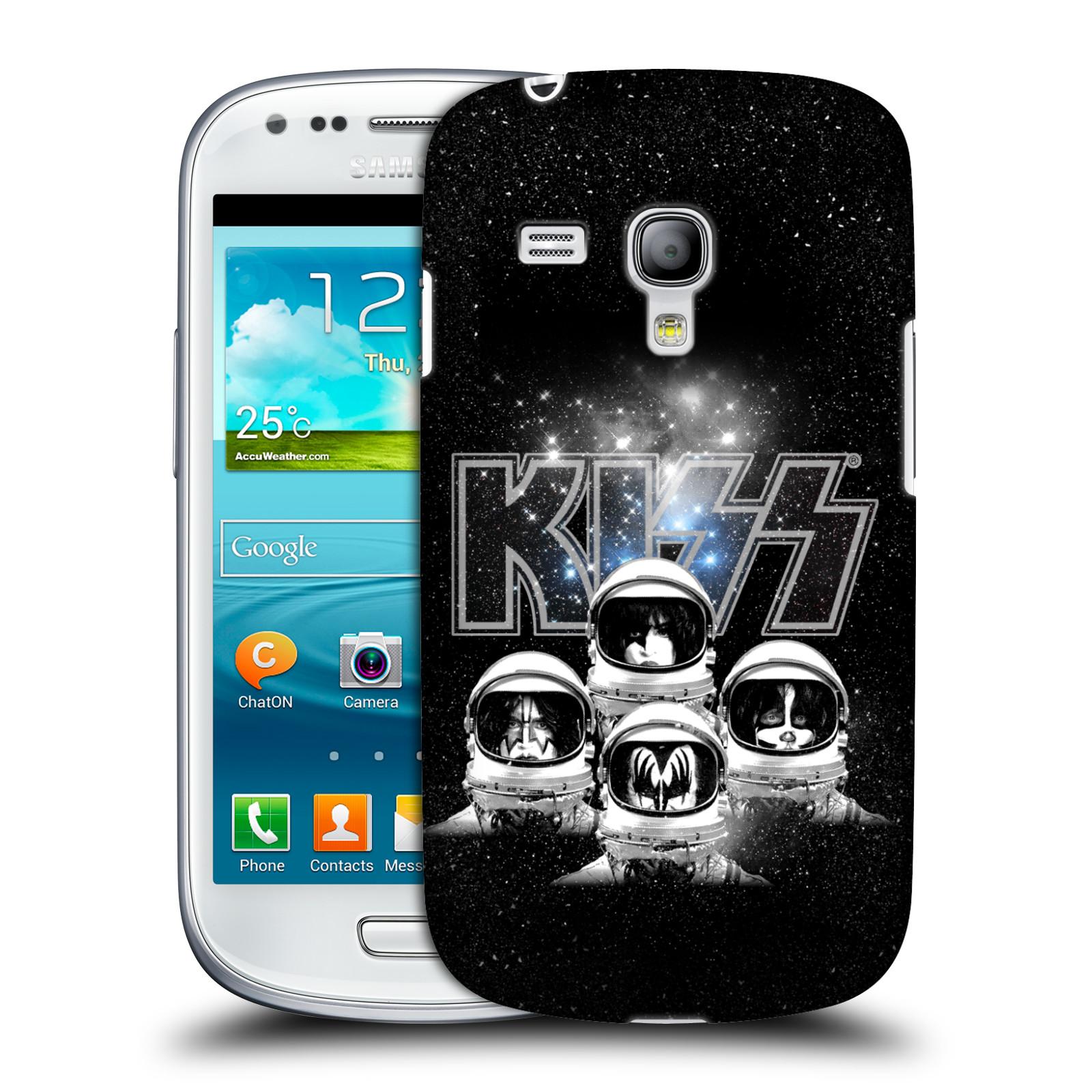 Silikonové pouzdro na mobil Samsung Galaxy S III Mini VE HEAD CASE - Kiss - Galactic (Plastový kryt či obal na mobilní telefon s licencovaným motivem Kiss pro Samsung Galaxy S3 Mini VE GT-i8200)