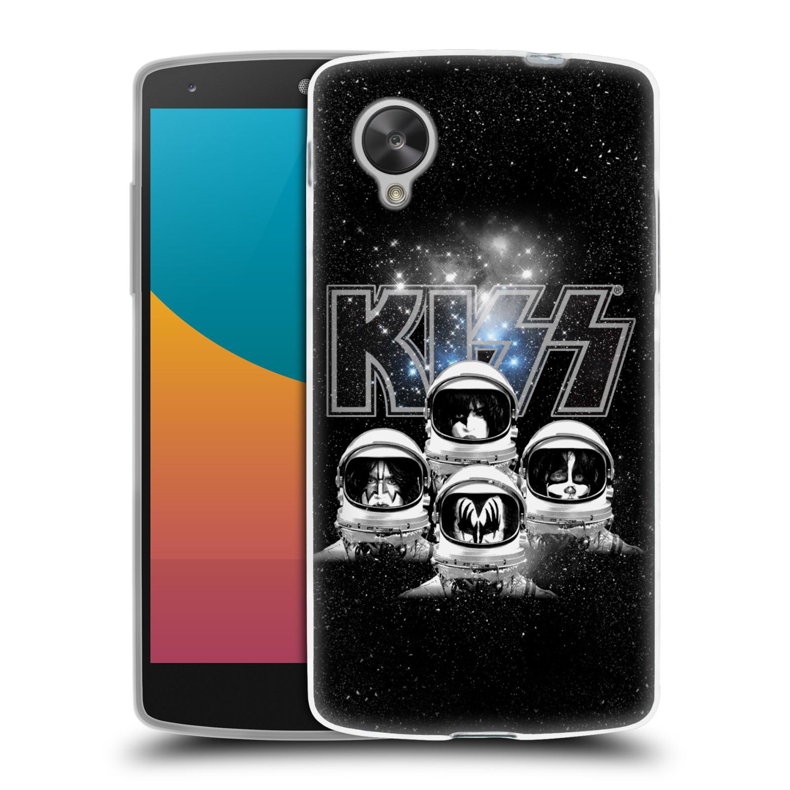 Silikonové pouzdro na mobil LG Nexus 5 HEAD CASE - Kiss - Galactic (Silikonový kryt či obal na mobilní telefon s licencovaným motivem Kiss pro LG Google Nexus 5 D821)