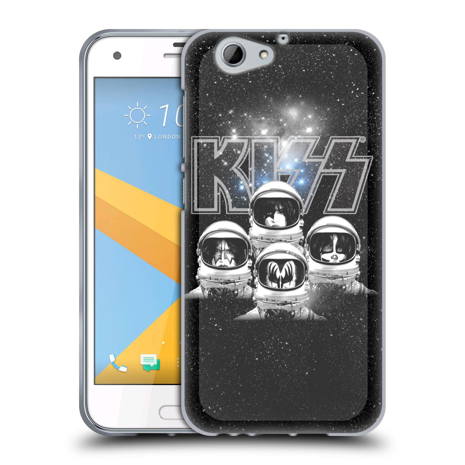 Silikonové pouzdro na mobil HTC One A9s Head Case - Kiss - Galactic (Silikonový kryt či obal na mobilní telefon s licencovaným motivem Kiss pro HTC One A9s (A9 s))