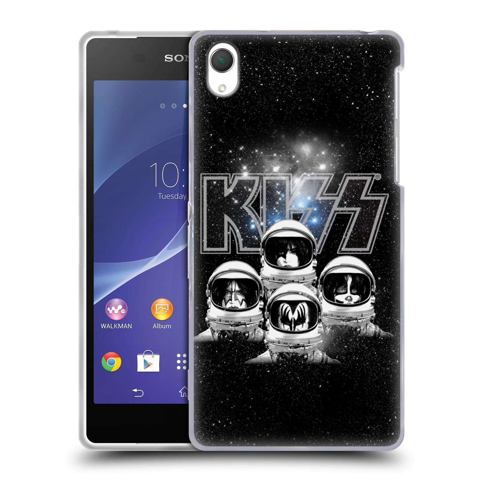 Silikonové pouzdro na mobil Sony Xperia Z2 D6503 HEAD CASE - Kiss - Galactic (Silikonový kryt či obal na mobilní telefon s licencovaným motivem Kiss pro Sony Xperia Z2)