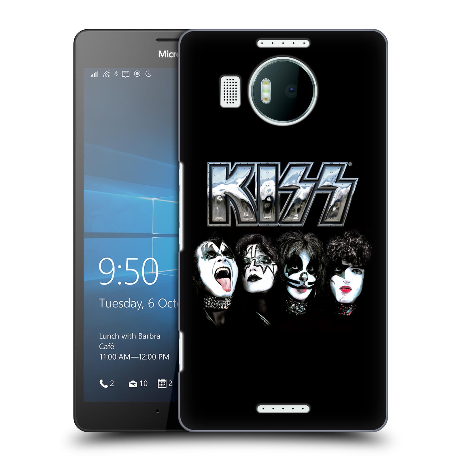 Plastové pouzdro na mobil Microsoft Lumia 950 XL HEAD CASE - Kiss - Vegas