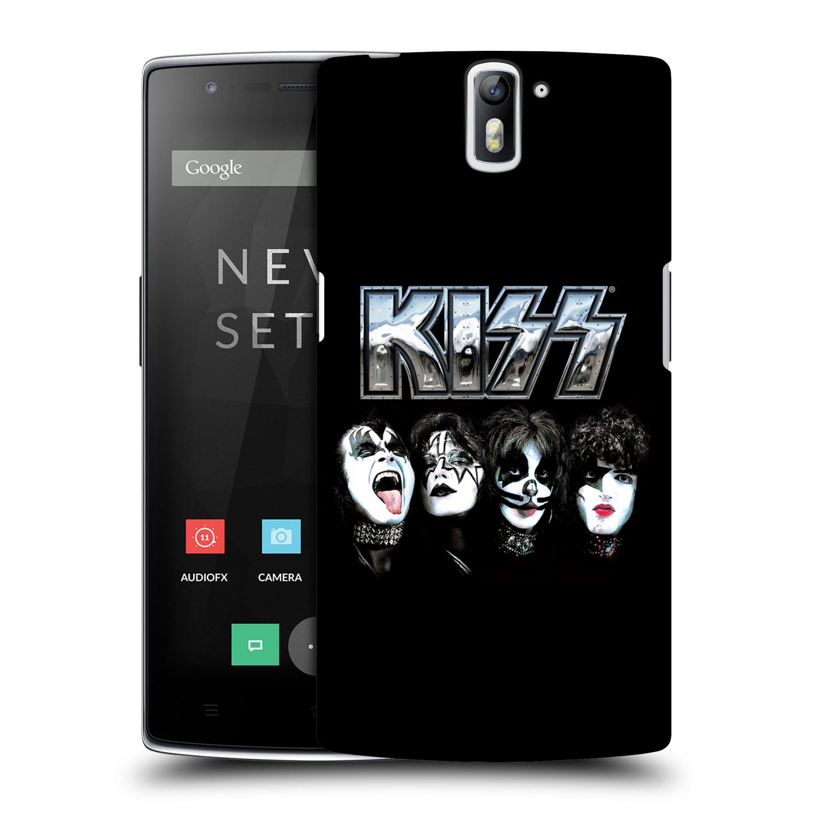 Plastové pouzdro na mobil OnePlus One HEAD CASE - Kiss - Vegas