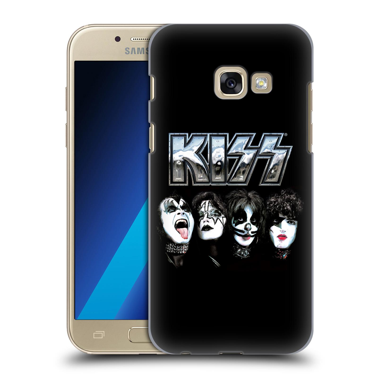 Plastové pouzdro na mobil Samsung Galaxy A3 (2017) HEAD CASE - Kiss - Vegas