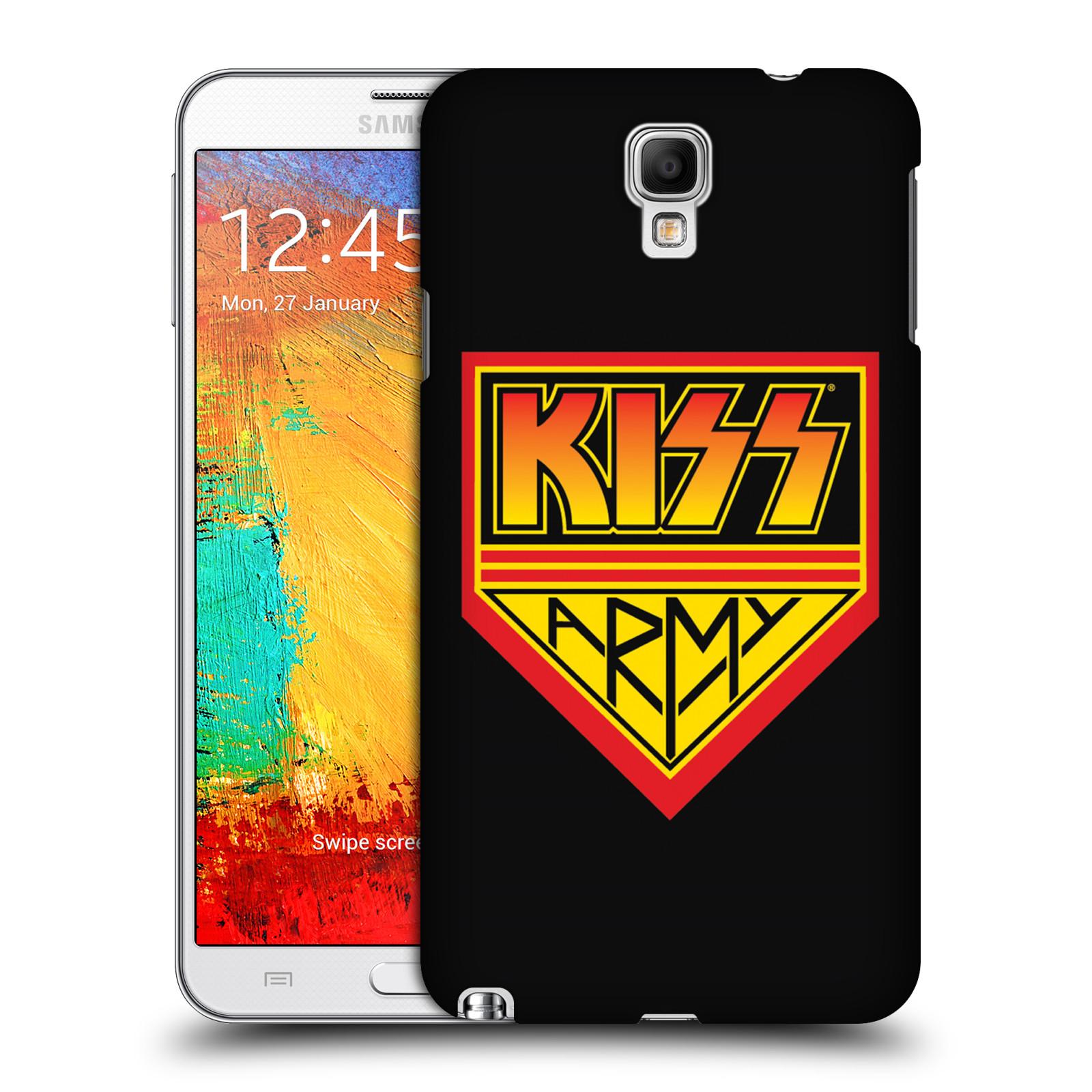 Plastové pouzdro na mobil Samsung Galaxy Note 3 Neo HEAD CASE - Kiss Army