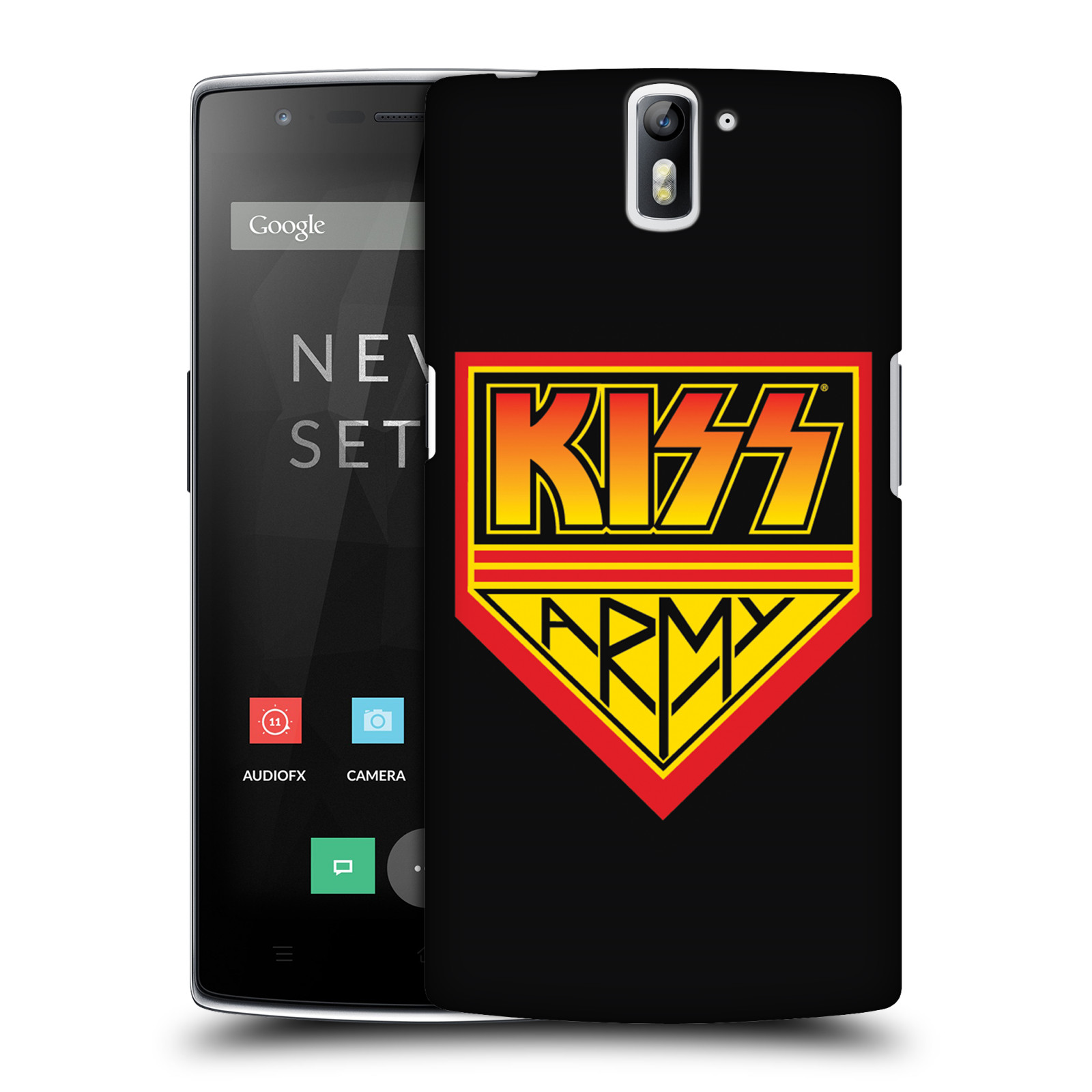Plastové pouzdro na mobil OnePlus One HEAD CASE - Kiss Army