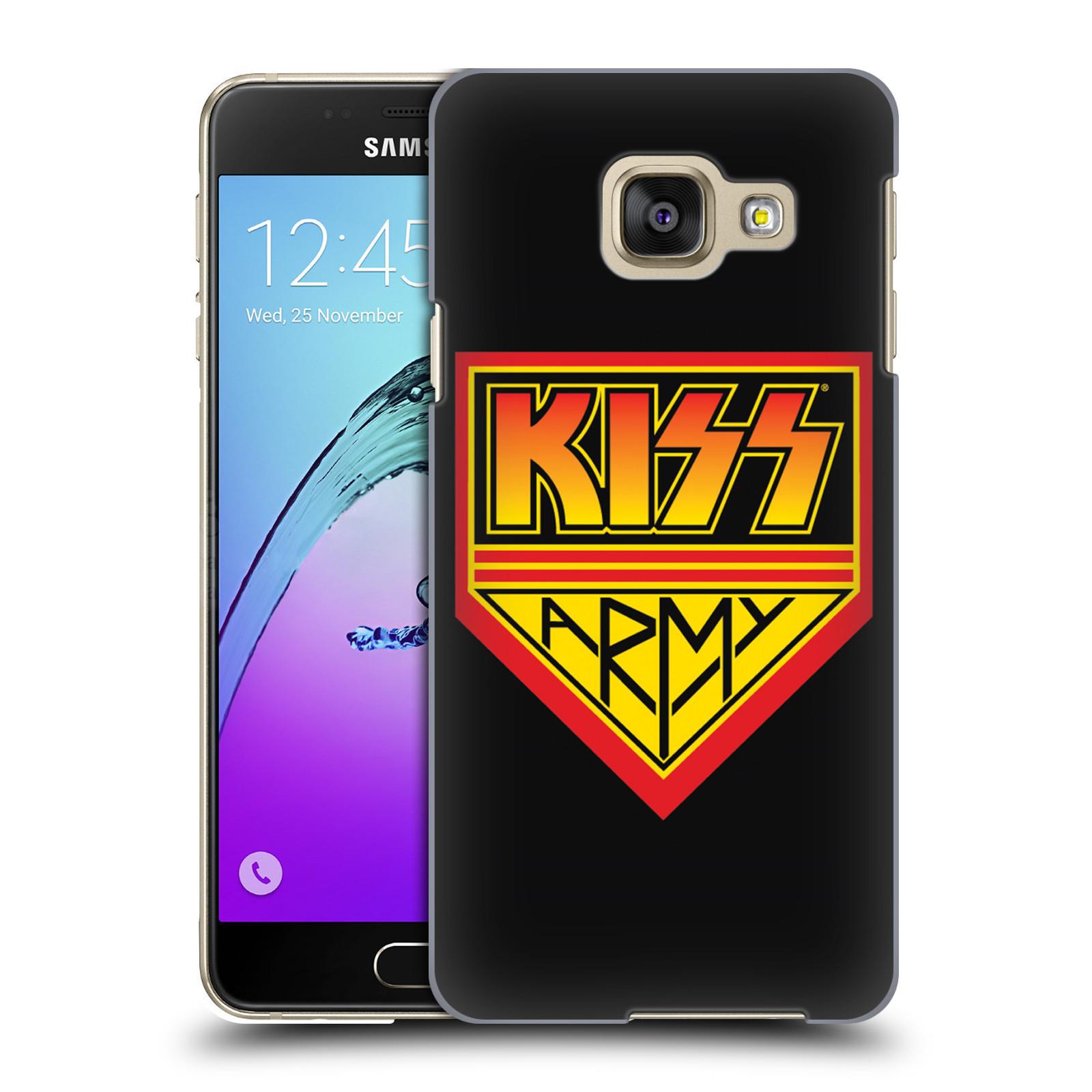 Plastové pouzdro na mobil Samsung Galaxy A3 (2016) HEAD CASE - Kiss Army