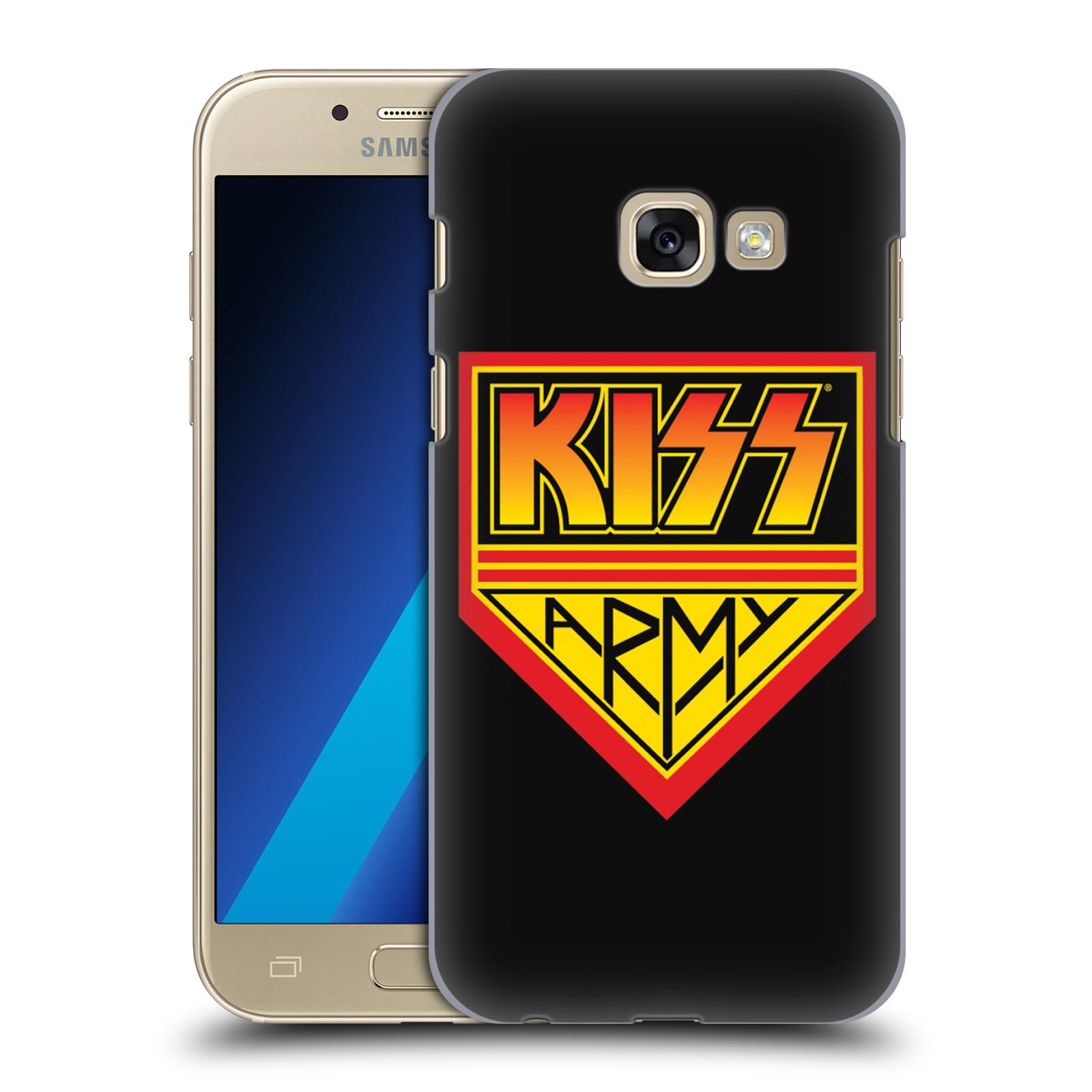 Plastové pouzdro na mobil Samsung Galaxy A3 (2017) HEAD CASE - Kiss Army