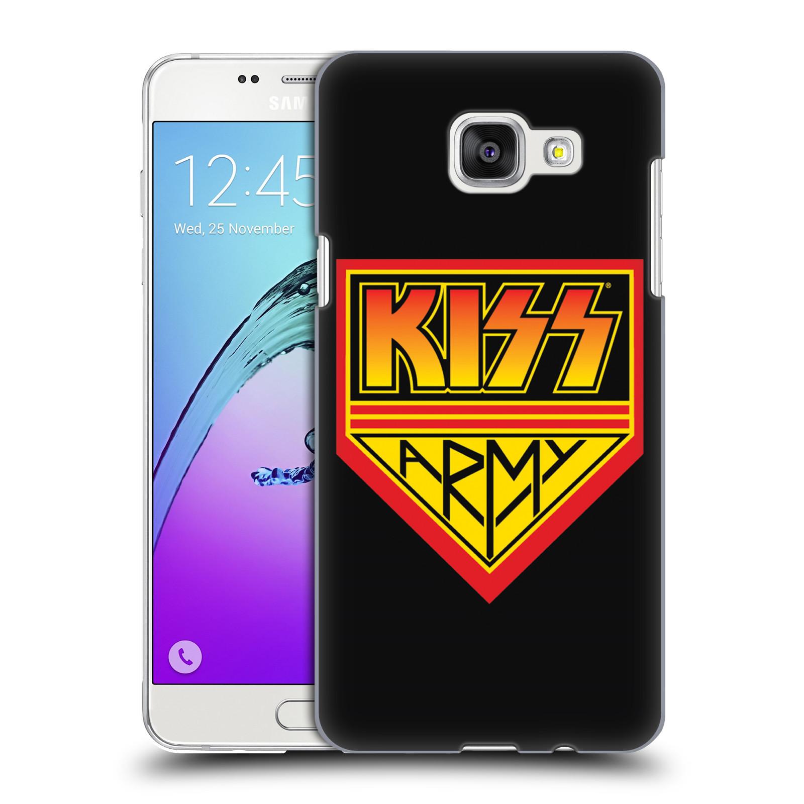 Plastové pouzdro na mobil Samsung Galaxy A5 (2016) HEAD CASE - Kiss Army