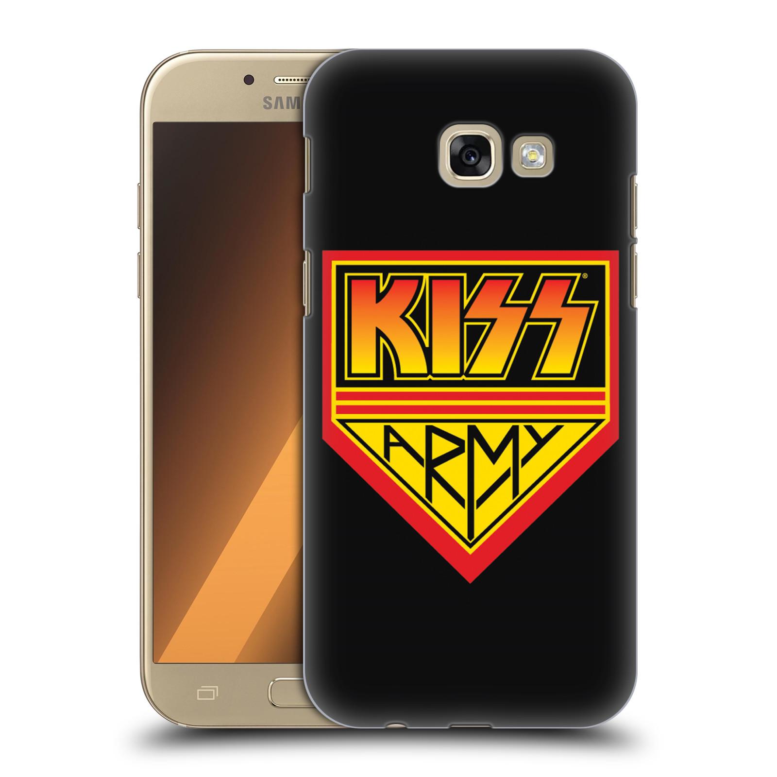 Plastové pouzdro na mobil Samsung Galaxy A5 (2017) HEAD CASE - Kiss Army