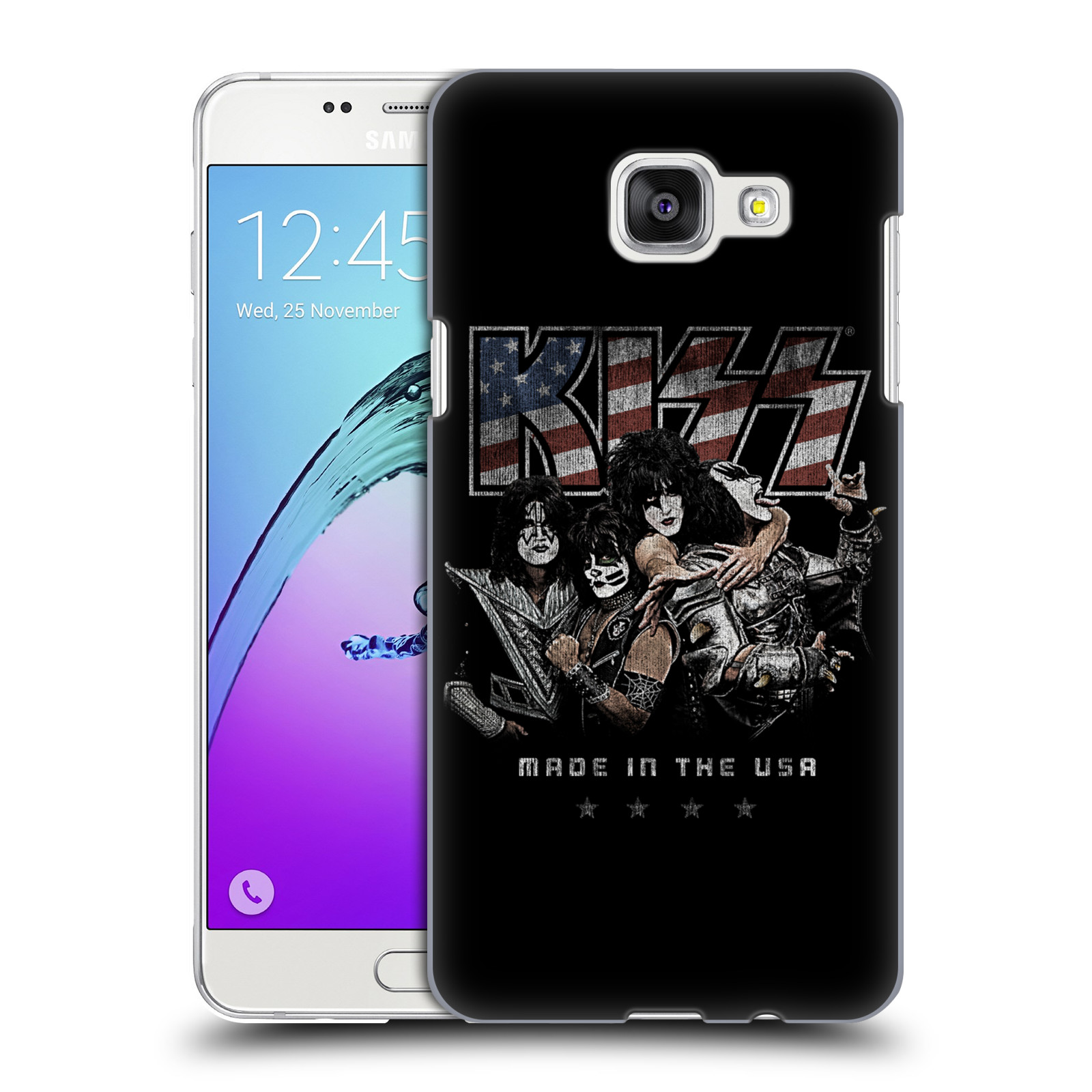 Plastové pouzdro na mobil Samsung Galaxy A5 (2016) HEAD CASE - Kiss - MADE IN THE USA