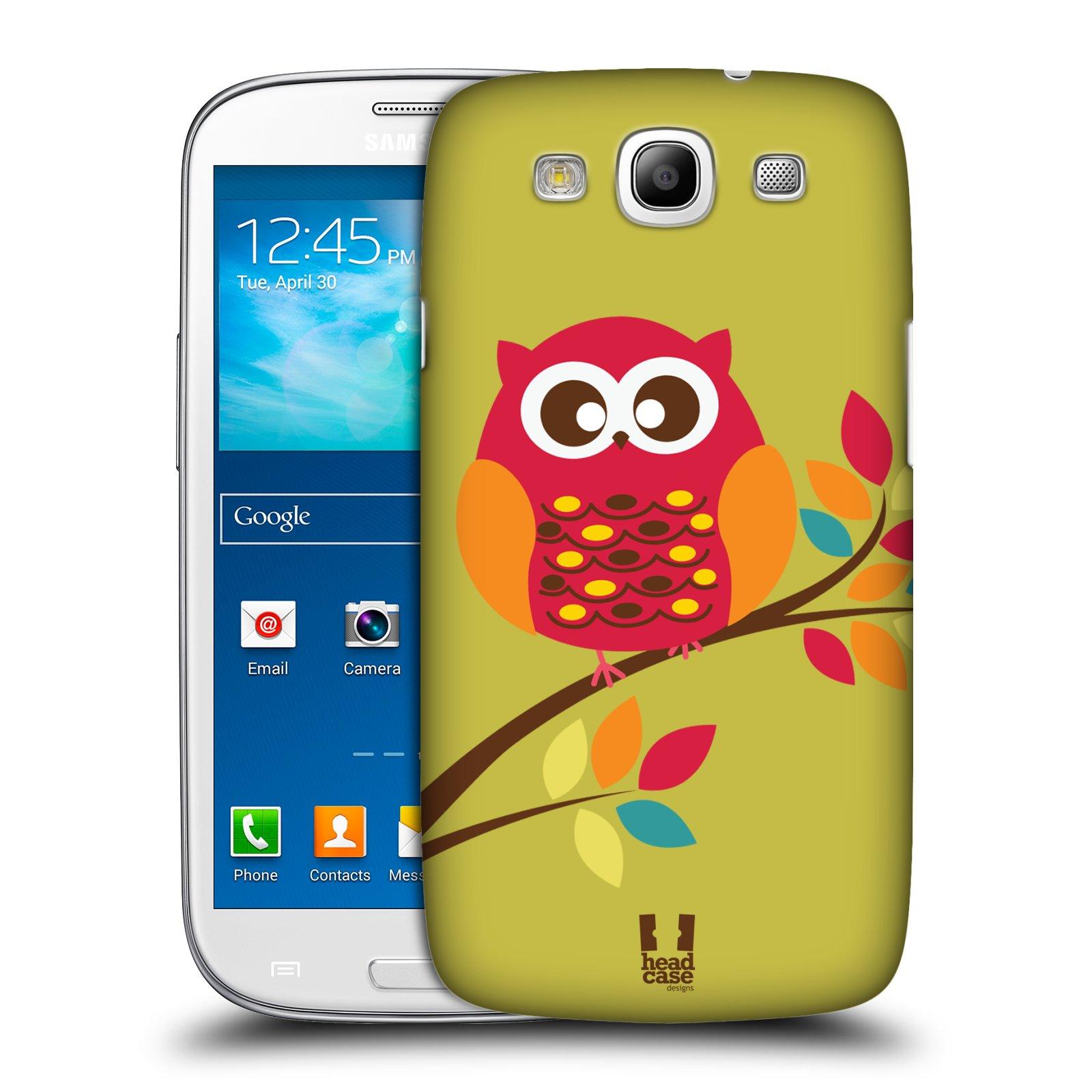 Plastové pouzdro na mobil Samsung Galaxy S3 Neo HEAD CASE SOVIČKA NA VĚTVI (Kryt či obal na mobilní telefon Samsung Galaxy S3 Neo GT-i9301i)