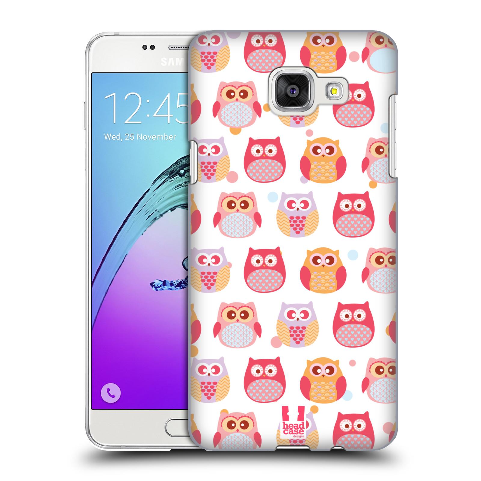 Plastové pouzdro na mobil Samsung Galaxy A5 (2016) HEAD CASE SOVIČKY VYKULENÉ
