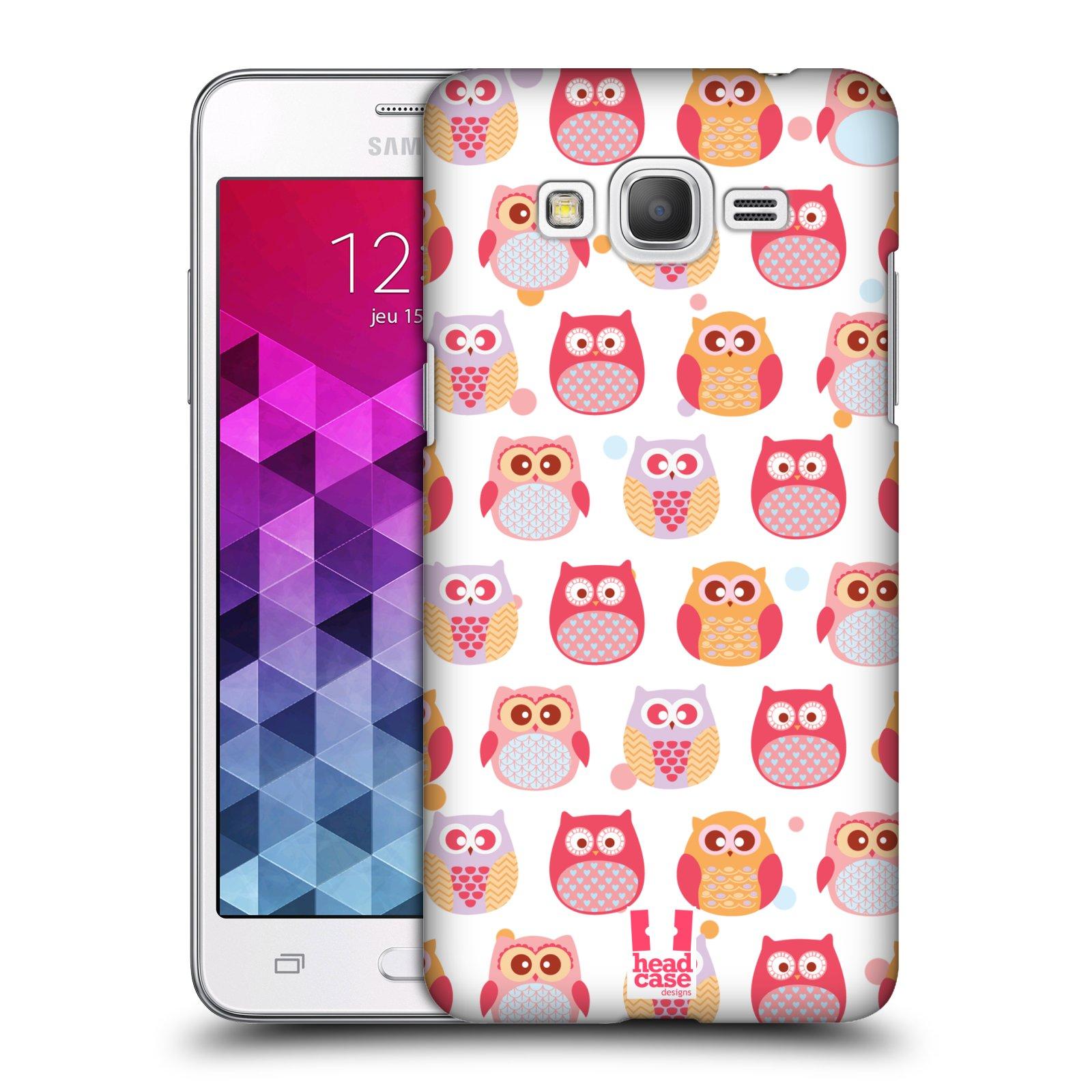 Plastové pouzdro na mobil Samsung Galaxy Grand Prime HEAD CASE SOVIČKY VYKULENÉ