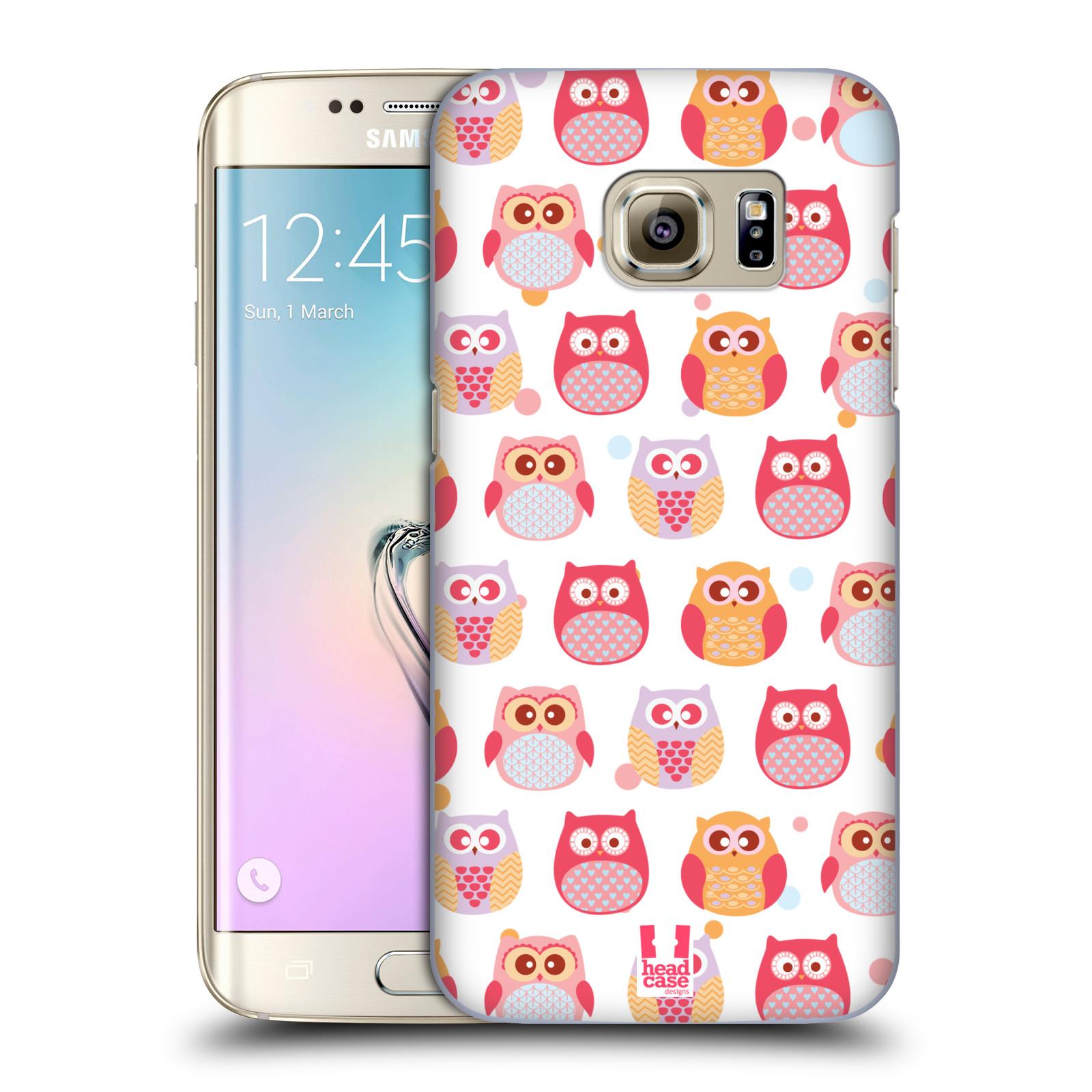 Plastové pouzdro na mobil Samsung Galaxy S7 Edge HEAD CASE SOVIČKY VYKULENÉ (Kryt či obal na mobilní telefon Samsung Galaxy S7 Edge SM-G935F)