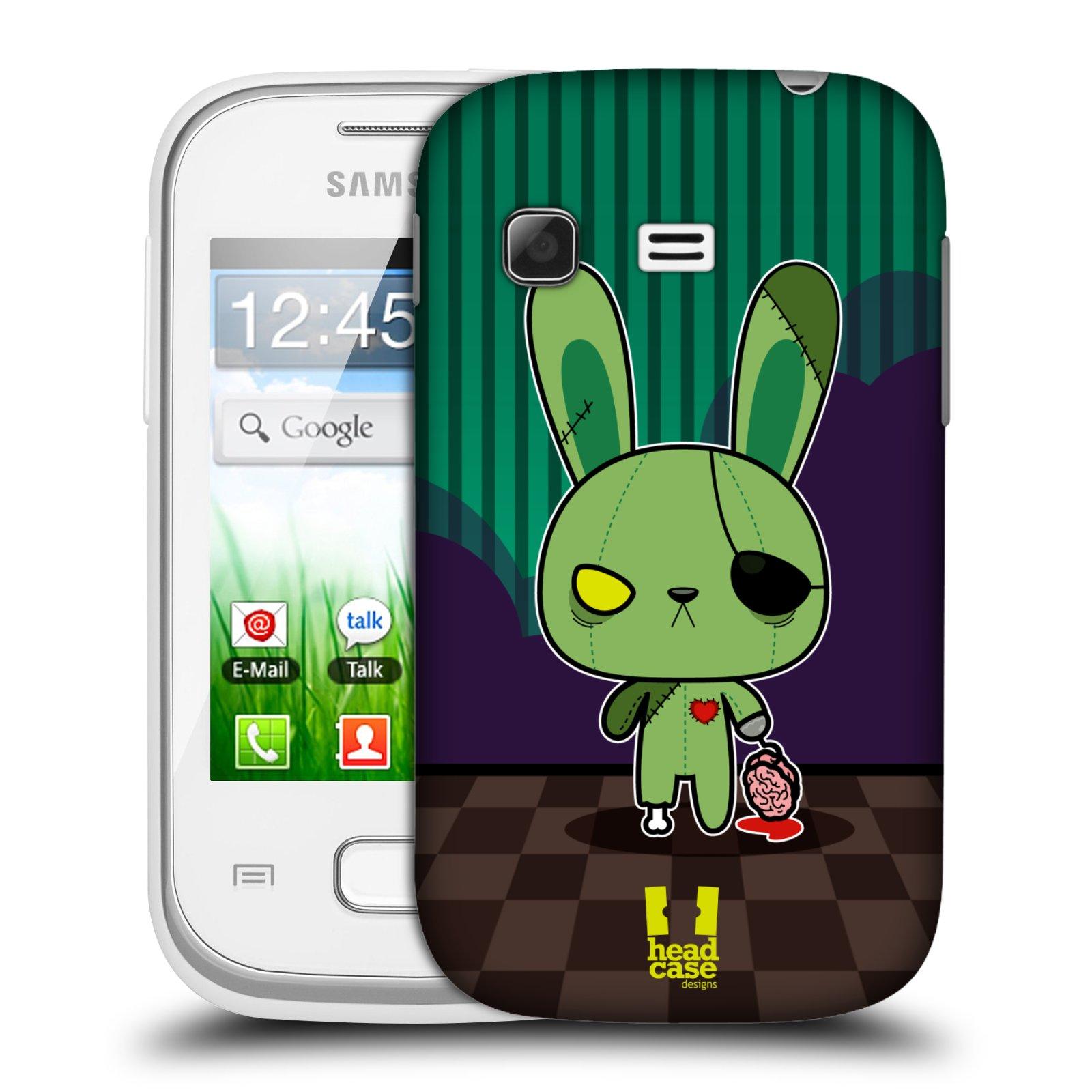 Plastové pouzdro na mobil Samsung Galaxy Pocket HEAD CASE ZOMBIE KRÁLÍČEK (Kryt či obal na mobilní telefon Samsung Galaxy Pocket GT-S5300)