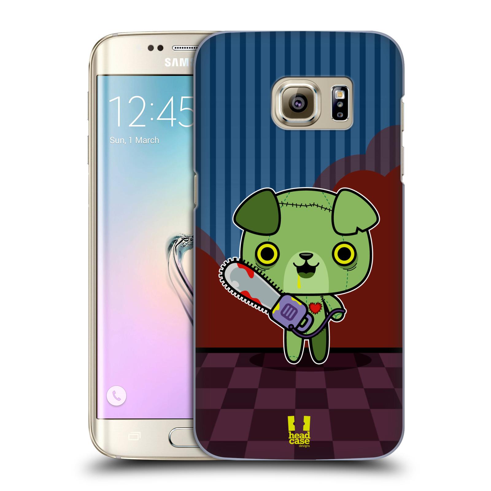 Plastové pouzdro na mobil Samsung Galaxy S7 Edge HEAD CASE ZOMBIE ŠTĚNĚ (Kryt či obal na mobilní telefon Samsung Galaxy S7 Edge SM-G935F)