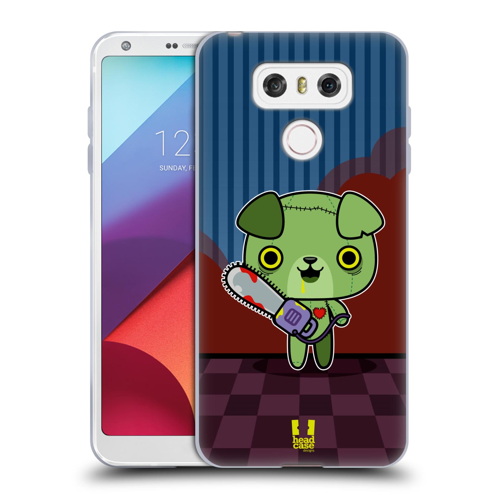 Silikonové pouzdro na mobil LG G6 - Head Case ZOMBIE ŠTĚNĚ (Silikonový kryt či obal na mobilní telefon LG G6 H870 / LG G6 Dual SIM H870DS)
