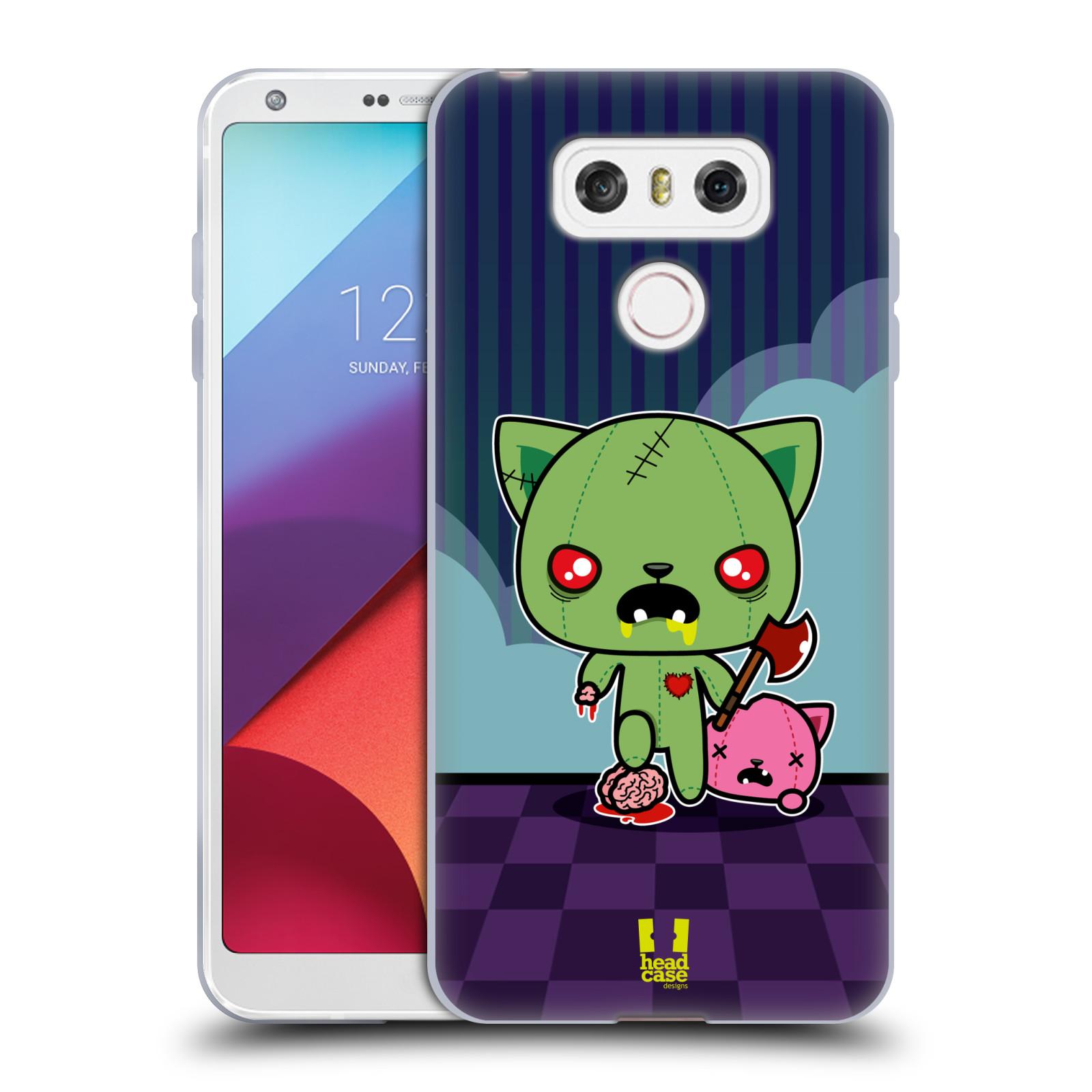 Silikonové pouzdro na mobil LG G6 - Head Case ZOMBIE KOČIČKA (Silikonový kryt či obal na mobilní telefon LG G6 H870 / LG G6 Dual SIM H870DS)