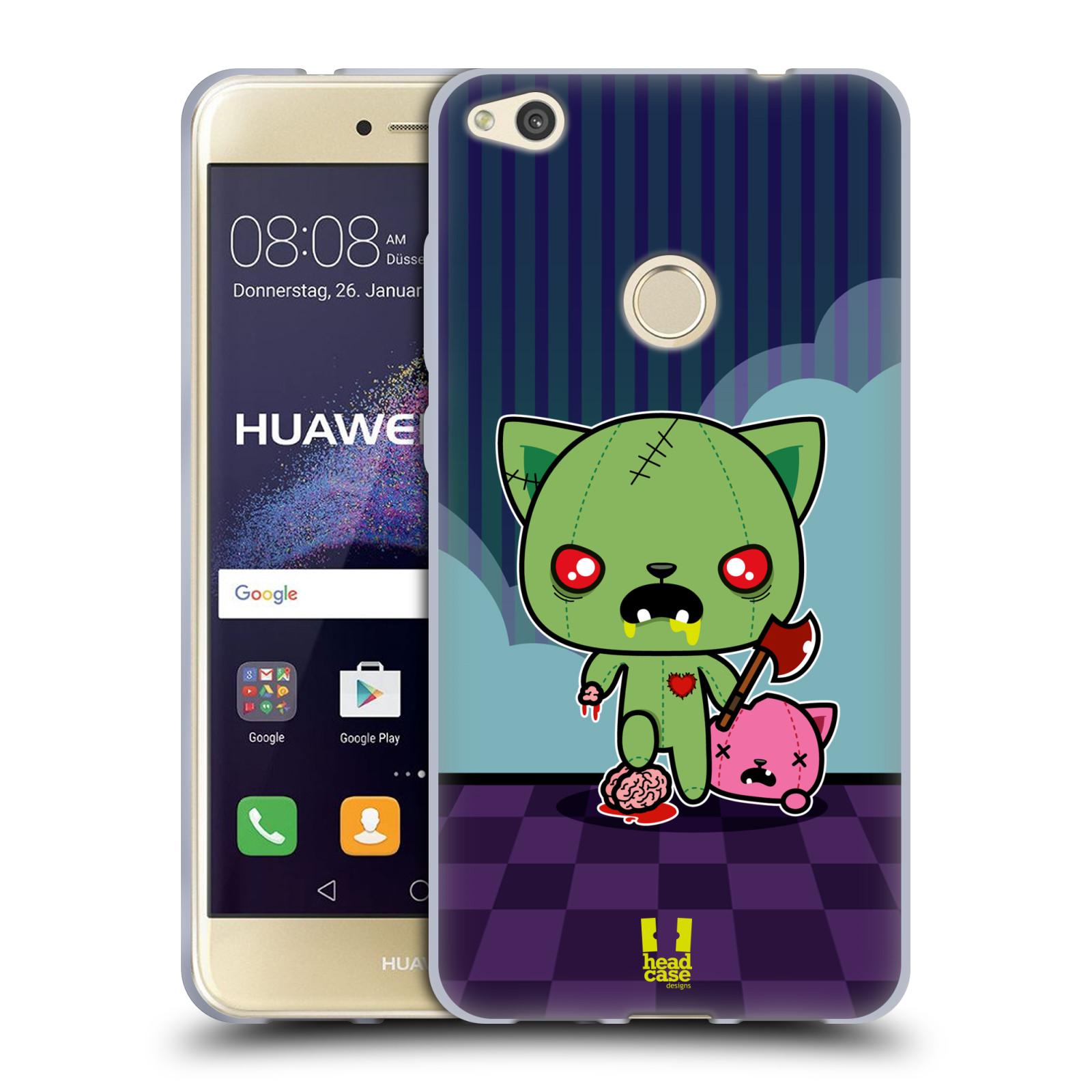 Silikonové pouzdro na mobil Honor 8 Lite - Head Case - ZOMBIE KOČIČKA empty f9ee70504cc