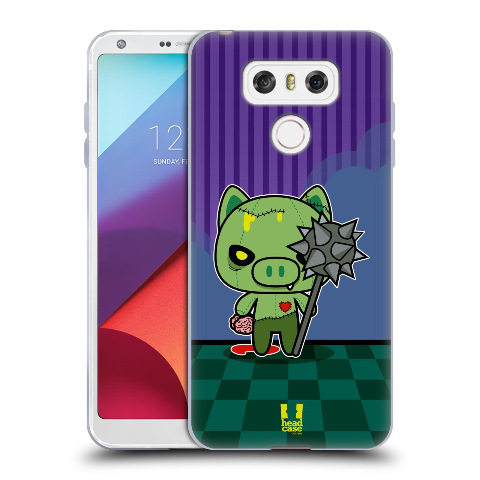 Silikonové pouzdro na mobil LG G6 - Head Case ZOMBIE PAŠÍK (Silikonový kryt či obal na mobilní telefon LG G6 H870 / LG G6 Dual SIM H870DS)