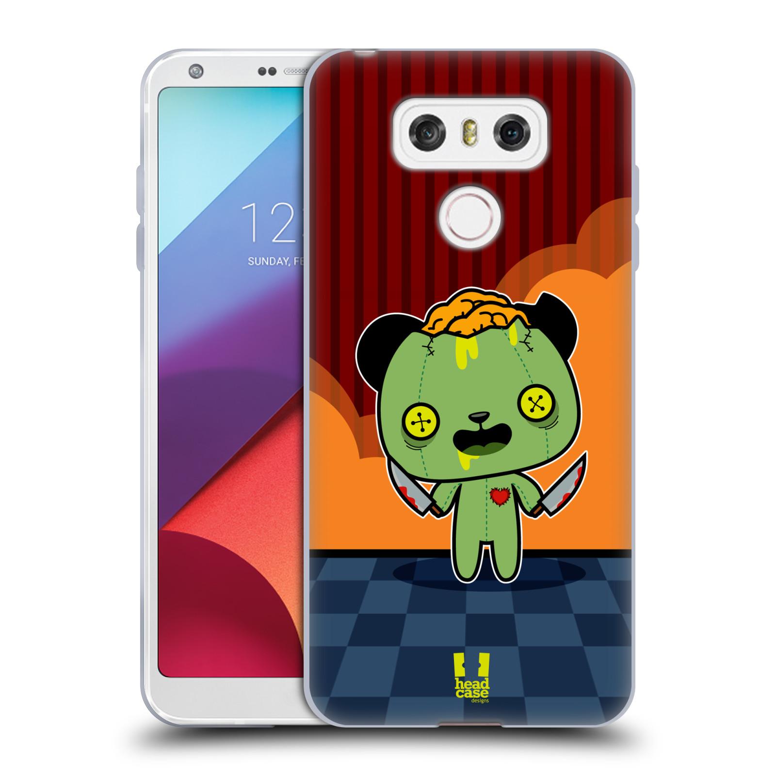 Silikonové pouzdro na mobil LG G6 - Head Case ZOMBIE PANDA (Silikonový kryt či obal na mobilní telefon LG G6 H870 / LG G6 Dual SIM H870DS)