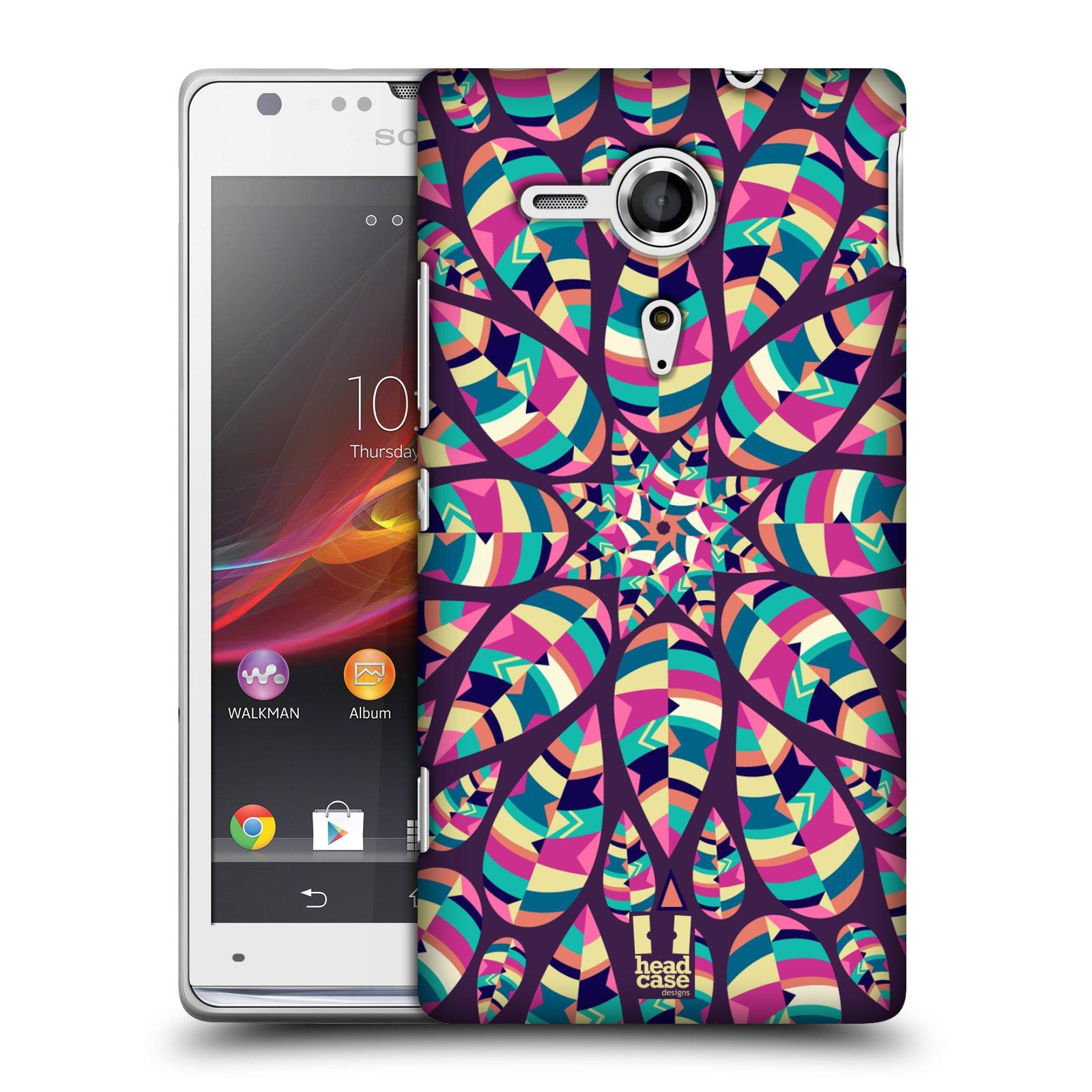Plastové pouzdro na mobil Sony Xperia SP C5303 HEAD CASE Shine (Kryt či obal na mobilní telefon Sony Xperia SP )