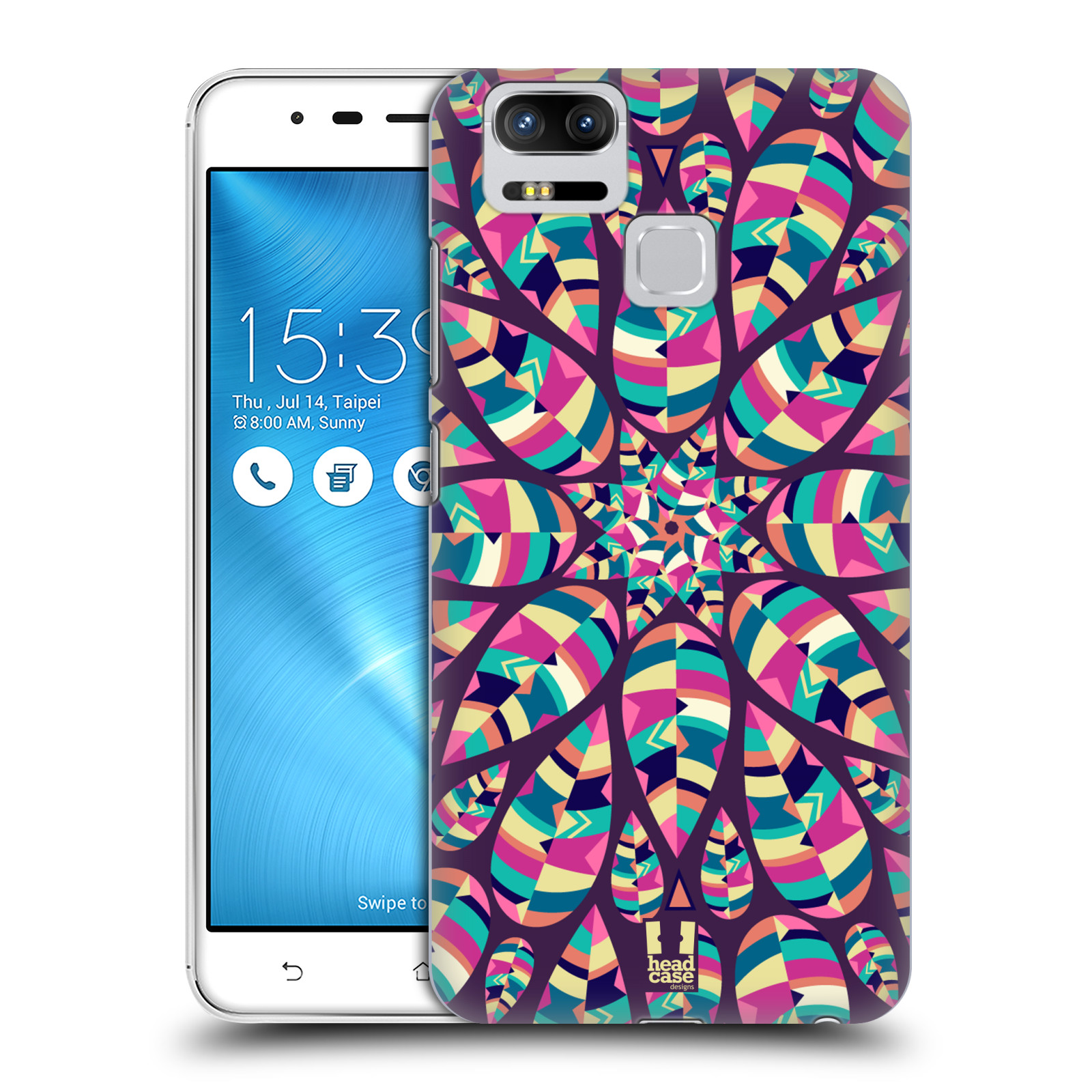 Plastové pouzdro na mobil Asus ZenFone 3 ZOOM ZE553KL - Head Case - Shine (Plastový kryt či obal na mobilní telefon Asus ZenFone 3 ZOOM ZE553KL s motivem Shine)