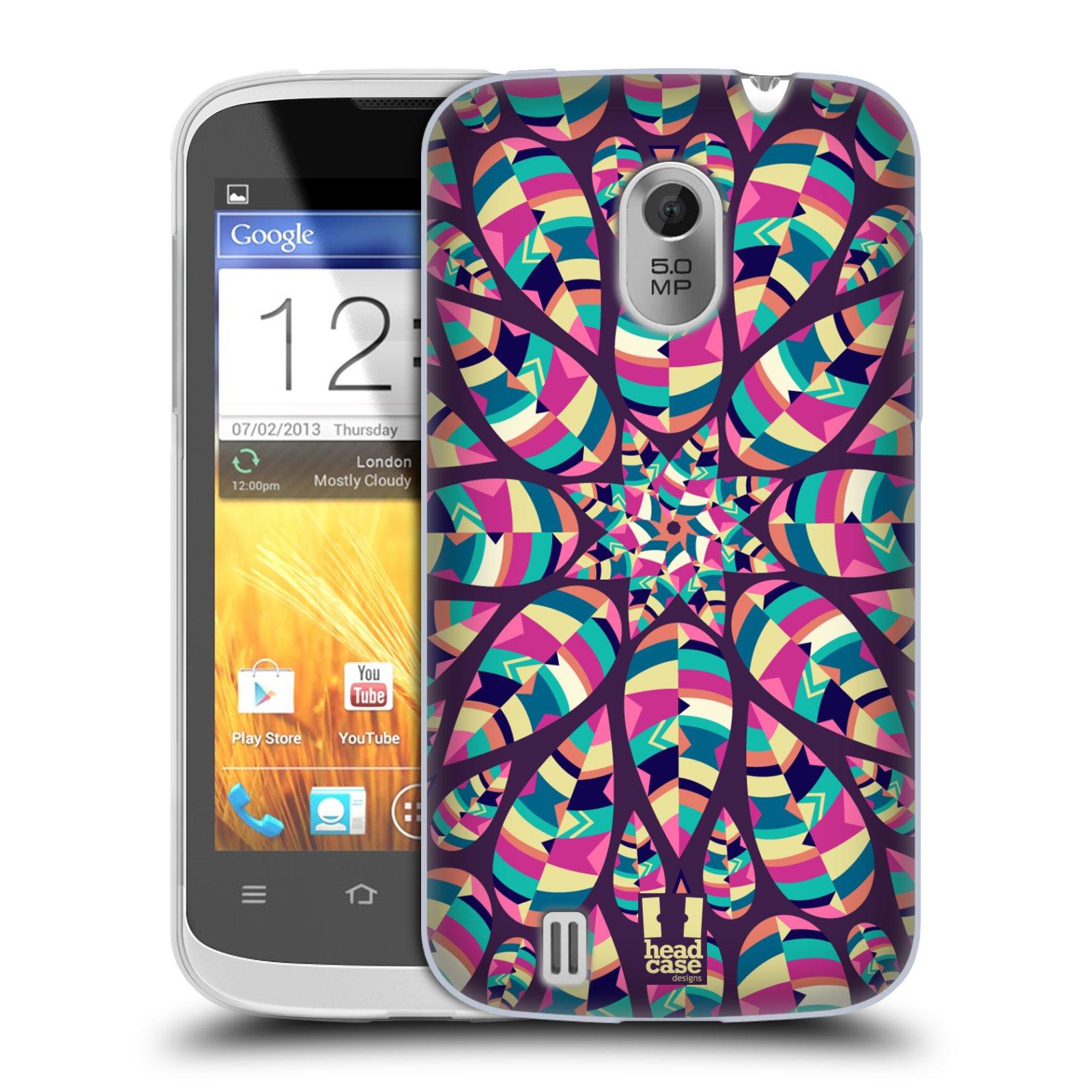 Silikonové pouzdro na mobil ZTE Blade III HEAD CASE Shine (Silikonový kryt či obal na mobilní telefon ZTE Blade 3)