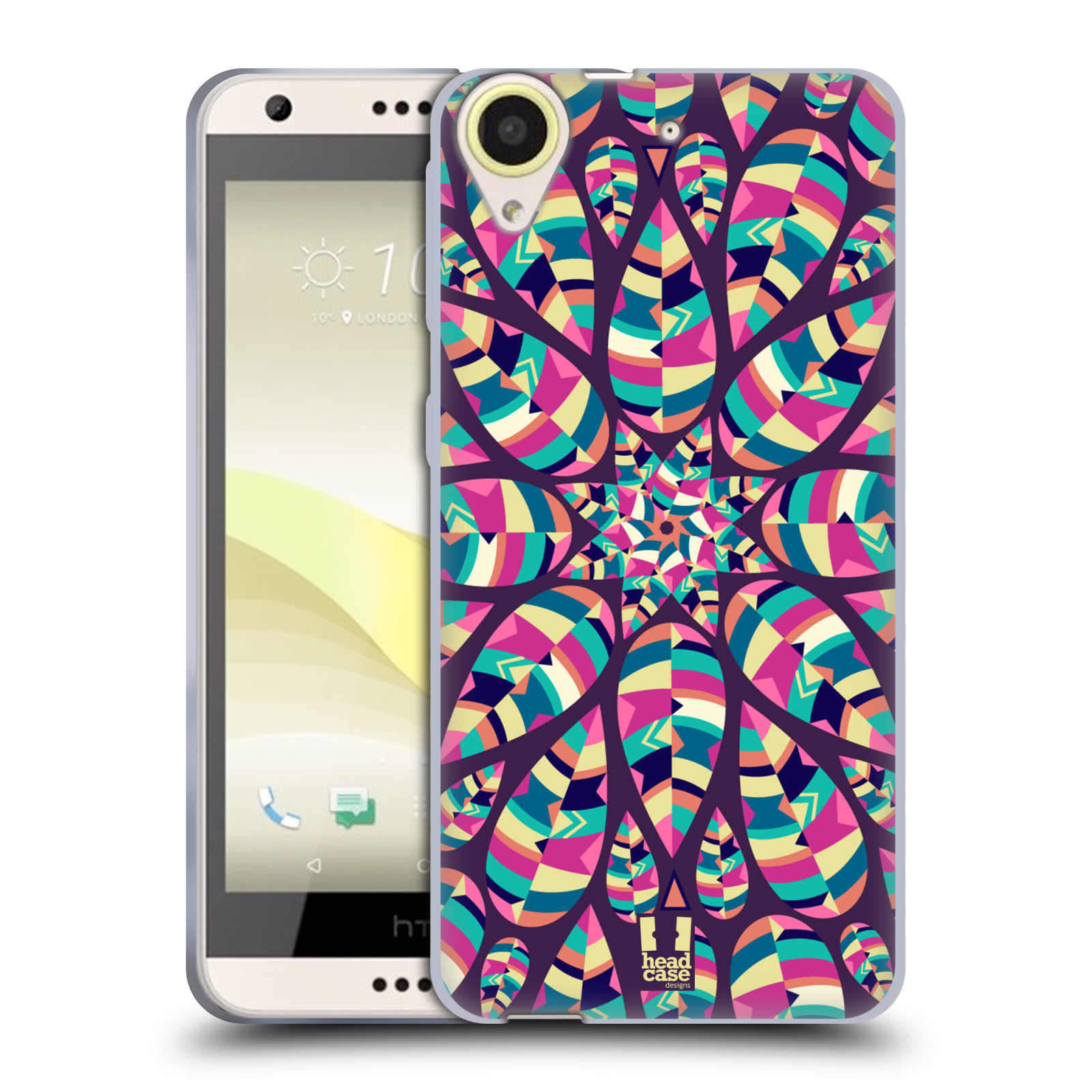 Silikonové pouzdro na mobil HTC Desire 650 HEAD CASE Shine (Silikonový kryt či obal na mobilní telefon HTC Desire 650)