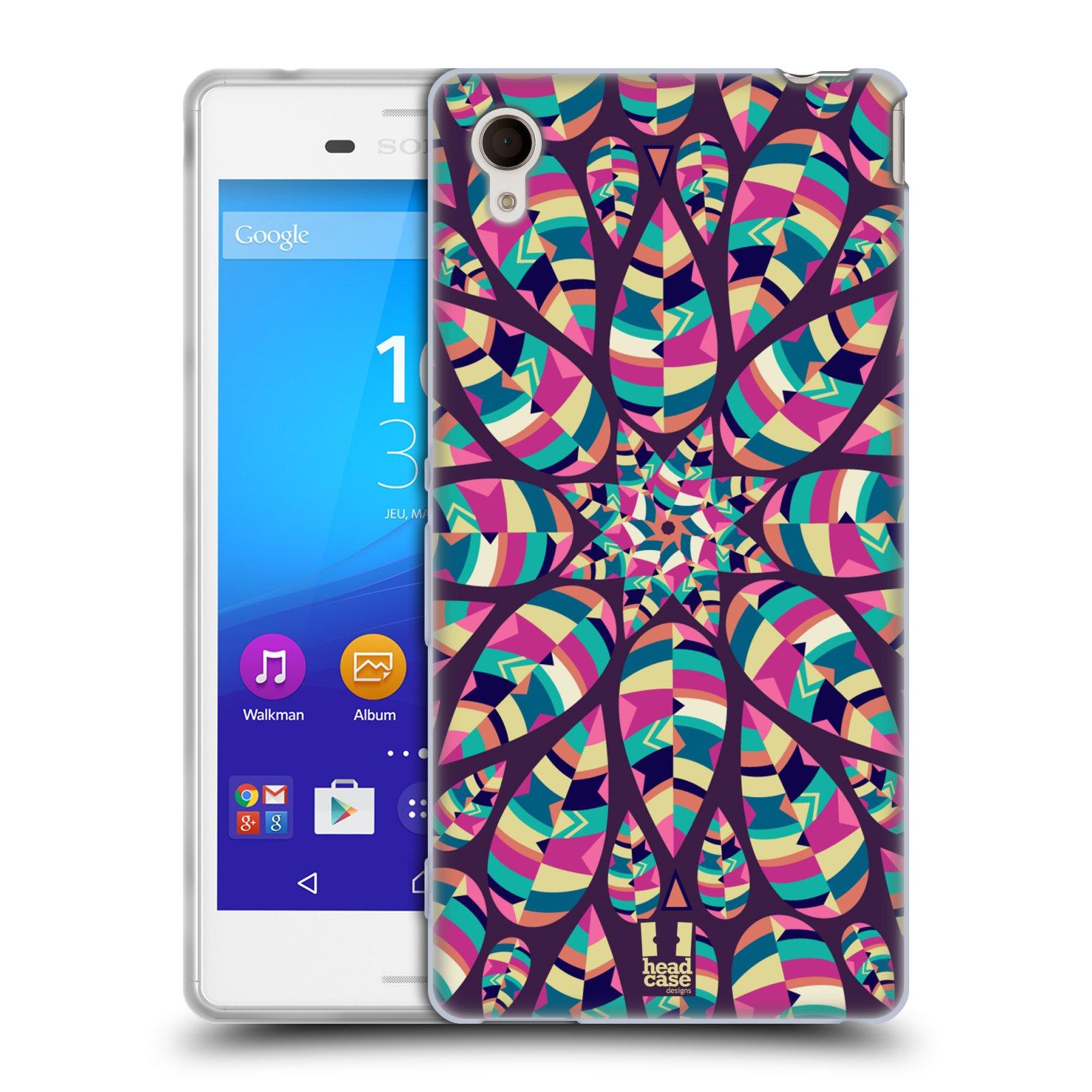Silikonové pouzdro na mobil Sony Xperia M4 Aqua E2303 HEAD CASE Shine (Silikonový kryt či obal na mobilní telefon Sony Xperia M4 Aqua a M4 Aqua Dual SIM)