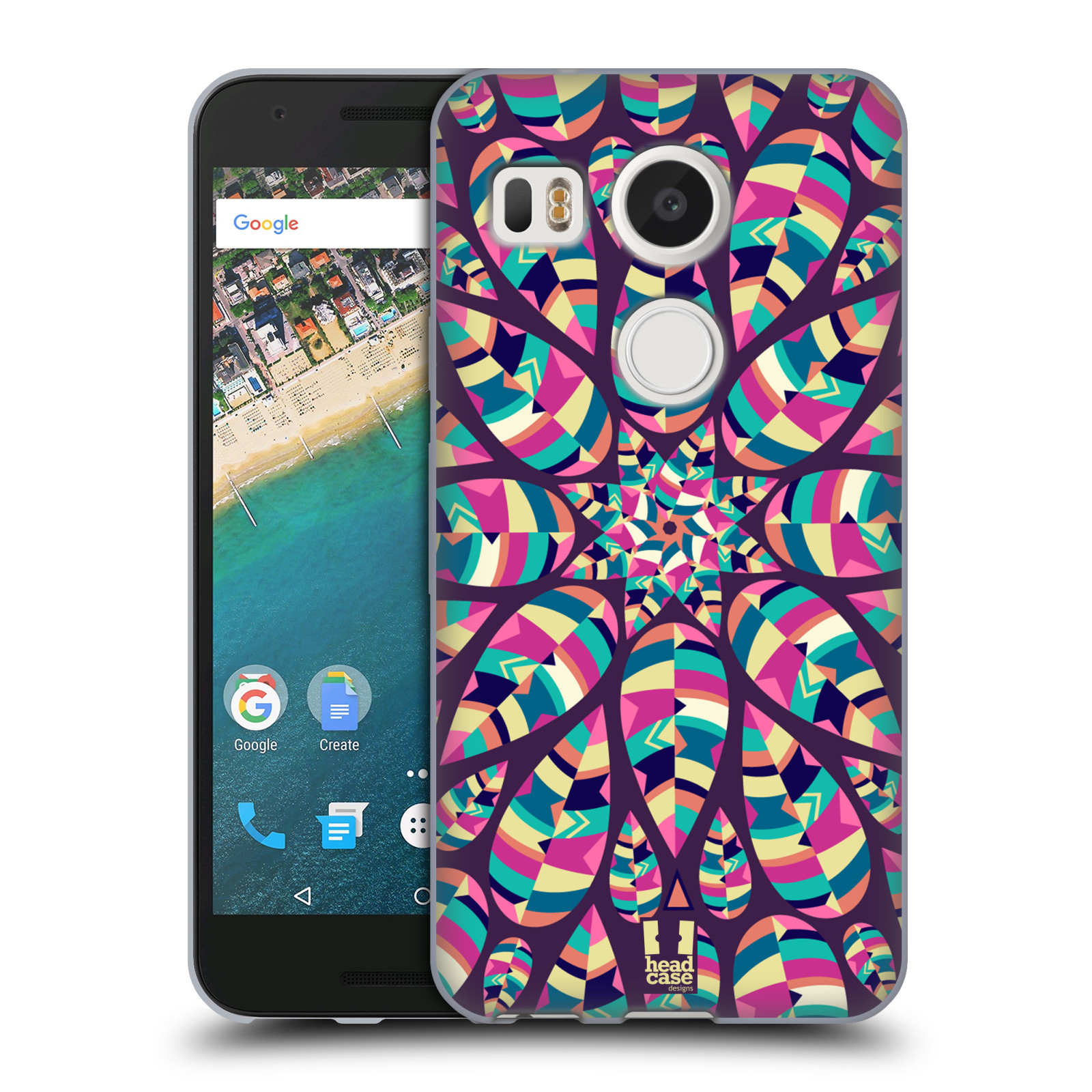 Silikonové pouzdro na mobil LG Nexus 5X - Head Case - Shine (Silikonový kryt či obal na mobilní telefon LG Nexus 5X)