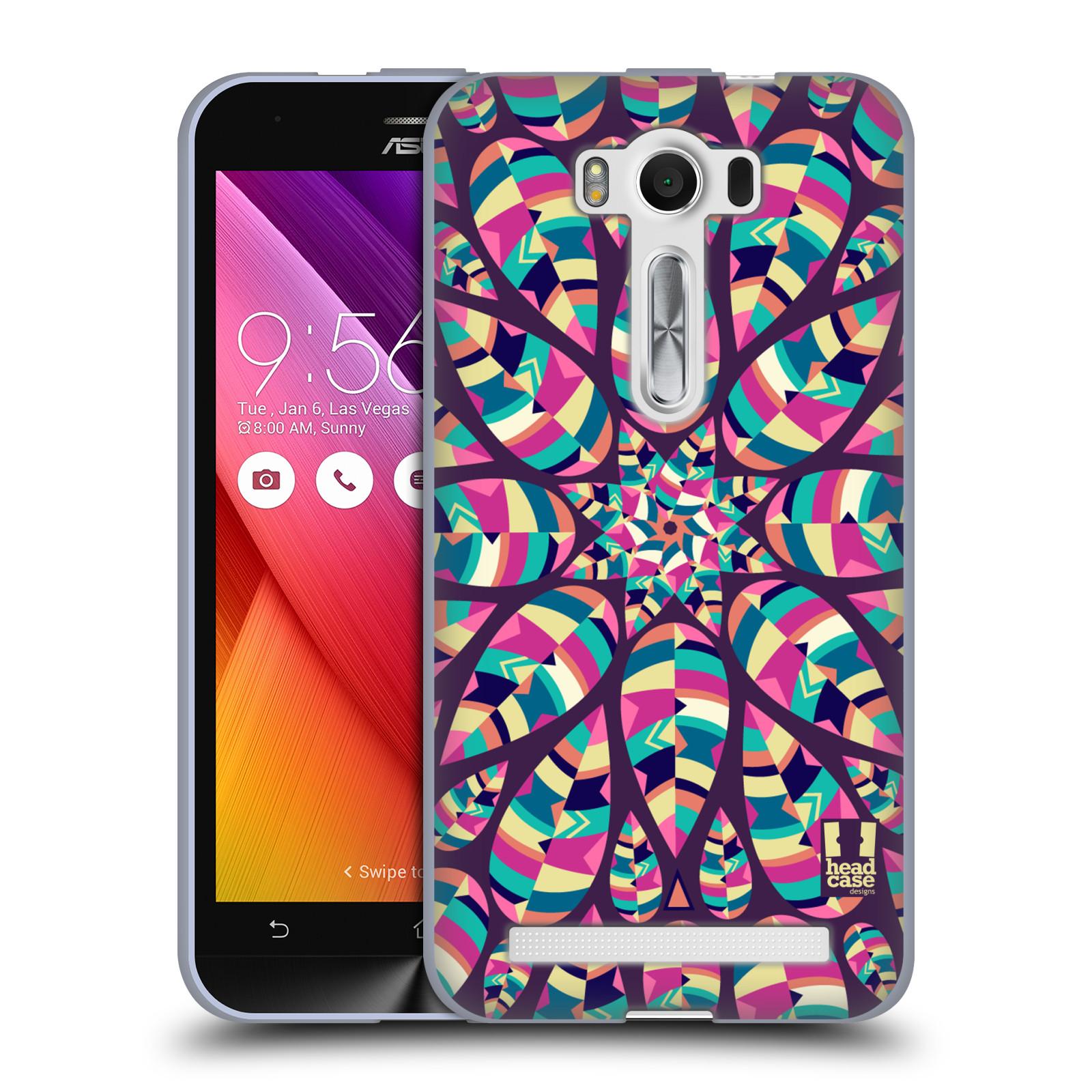 """Silikonové pouzdro na mobil Asus ZenFone 2 Laser ZE500KL HEAD CASE Shine (Silikonový kryt či obal na mobilní telefon Asus ZenFone 2 Laser ZE500KL s 5"""" displejem)"""