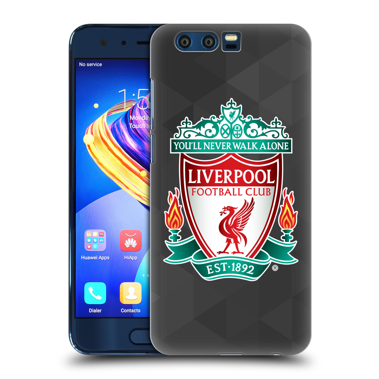 Plastové pouzdro na mobil Honor 9 - Head Case - ZNAK LIVERPOOL FC OFFICIAL GEOMETRIC BLACK