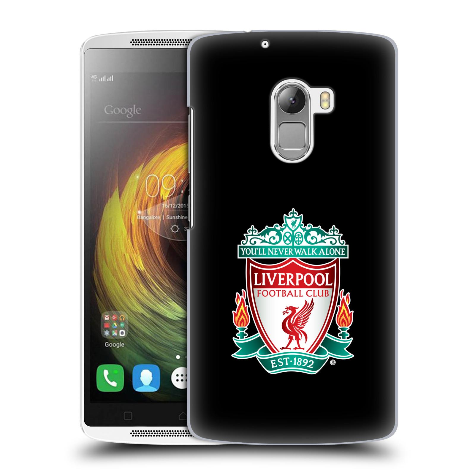 Plastové pouzdro na mobil Lenovo A7010 HEAD CASE ZNAK LIVERPOOL FC OFFICIAL BLACK