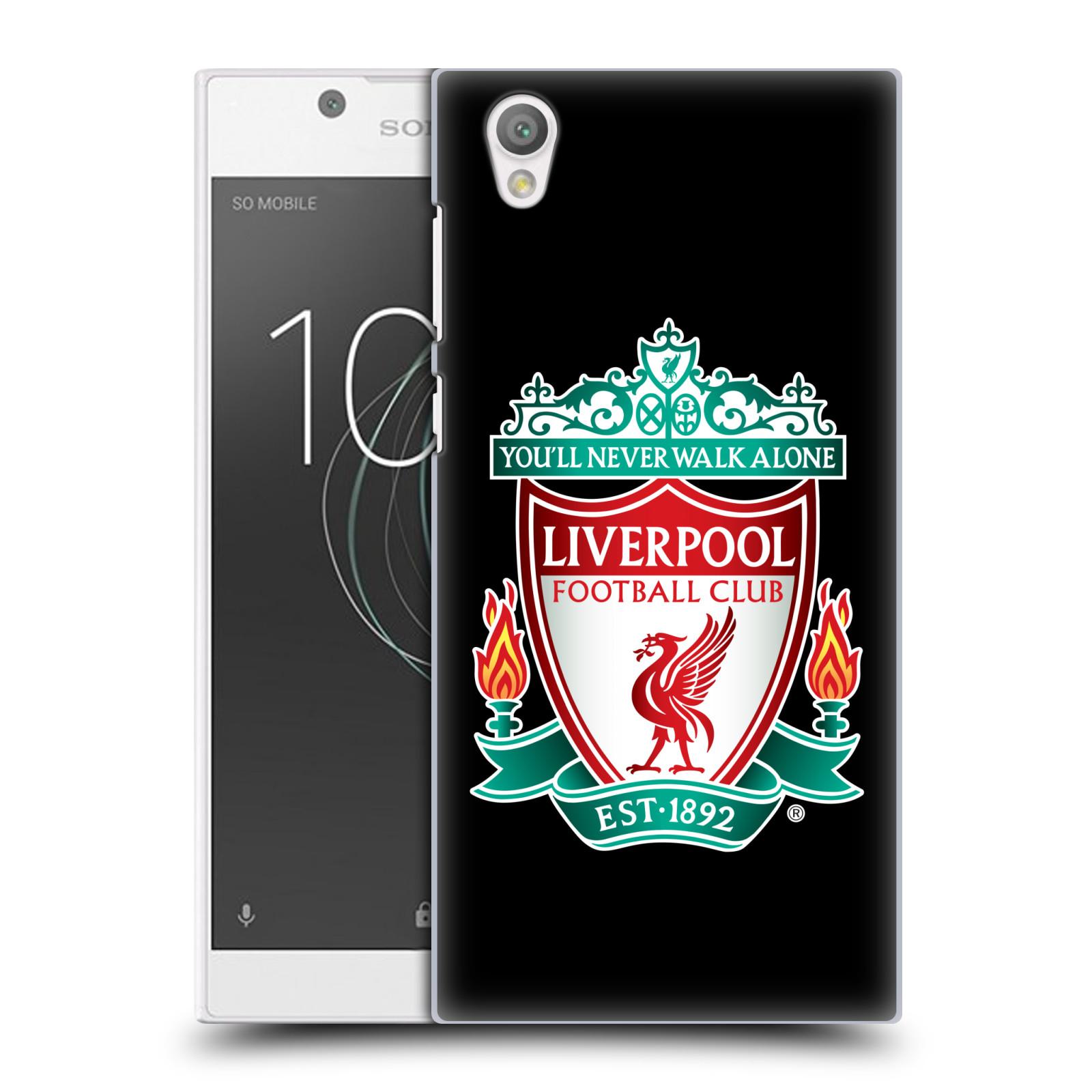 Plastové pouzdro na mobil Sony Xperia L1 - Head Case - ZNAK LIVERPOOL FC OFFICIAL BLACK