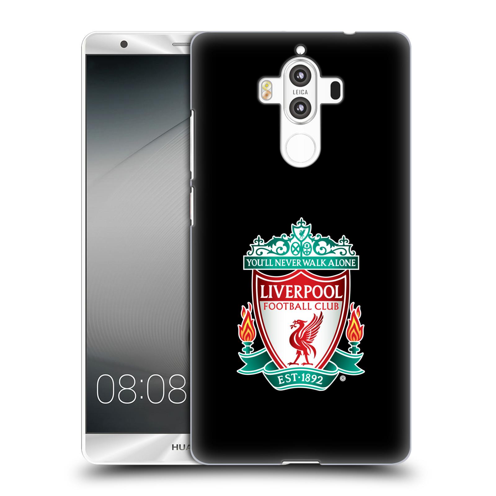 Plastové pouzdro na mobil Huawei Mate 9 - Head Case ZNAK LIVERPOOL FC OFFICIAL BLACK (Plastový kryt či obal na mobilní telefon Liverpool FC Official pro Huawei Mate 9 (Dual SIM))