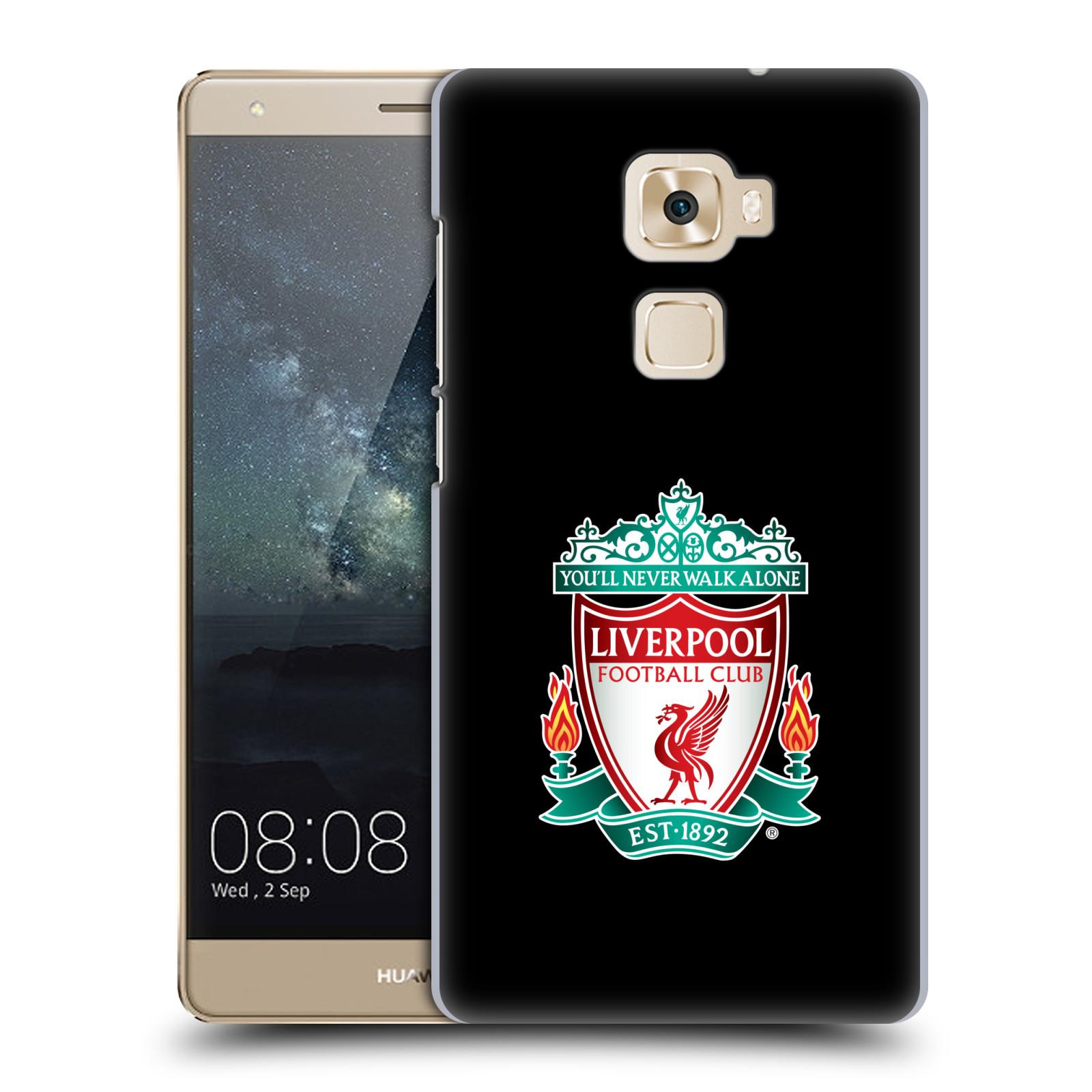 Plastové pouzdro na mobil Huawei Mate S HEAD CASE ZNAK LIVERPOOL FC OFFICIAL BLACK (Plastový kryt či obal na mobilní telefon Liverpool FC Official pro Huawei Mate S)