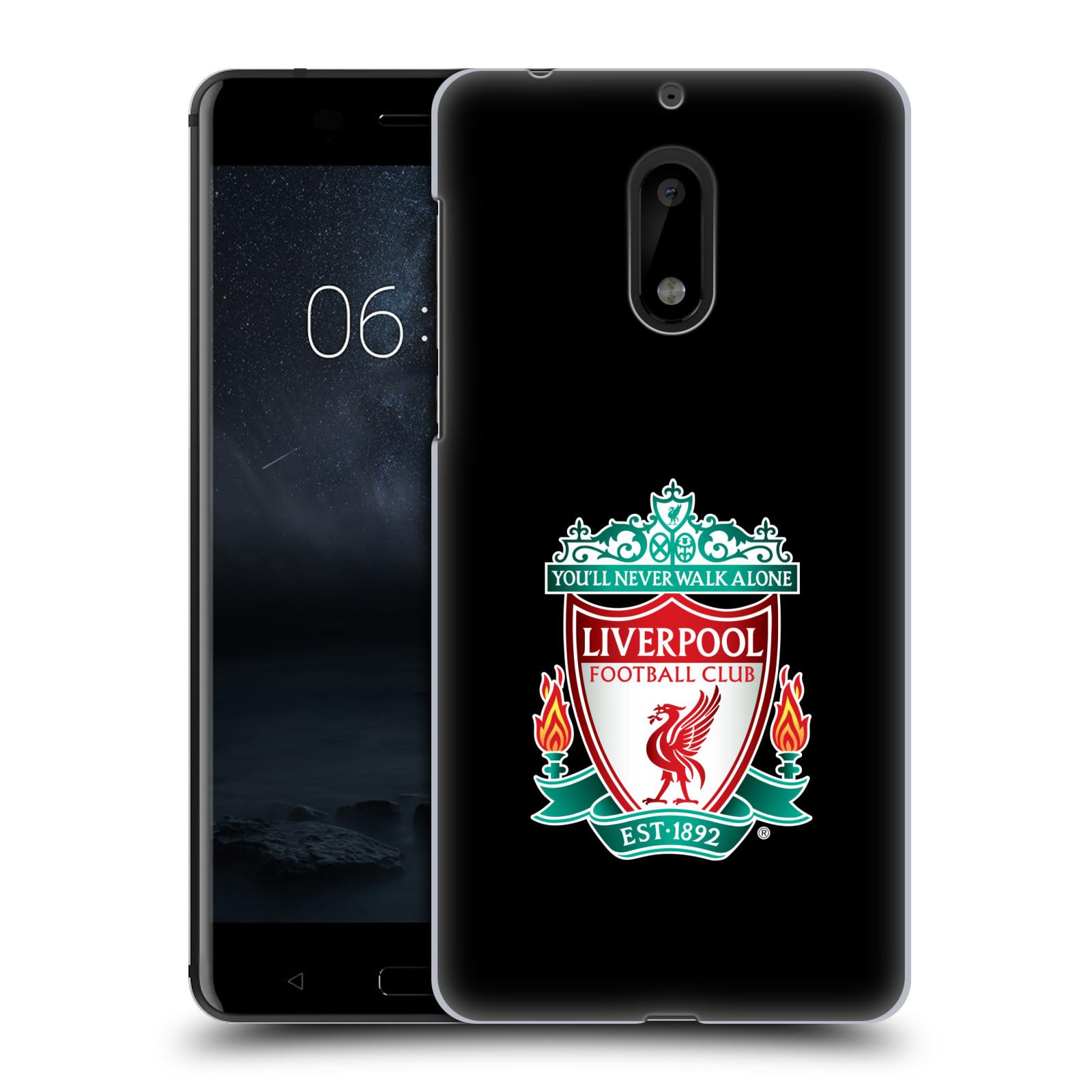 Plastové pouzdro na mobil Nokia 6 - Head Case ZNAK LIVERPOOL FC OFFICIAL BLACK (Plastový kryt či obal na mobilní telefon Liverpool FC Official pro Nokia 6 (Dual SIM))