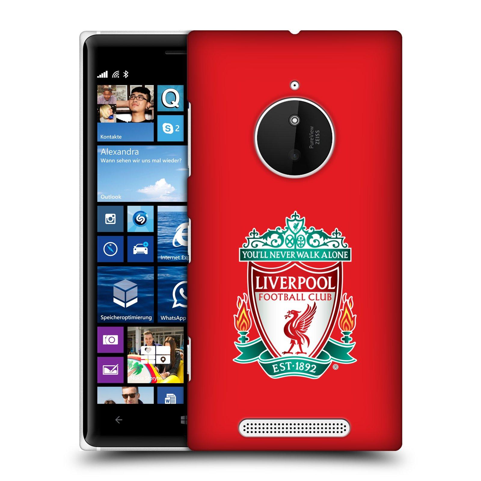 Plastové pouzdro na mobil Nokia Lumia 830 HEAD CASE ZNAK LIVERPOOL FC OFFICIAL RED (Kryt či obal na mobilní telefon Liverpool FC Official pro Nokia Lumia 830)