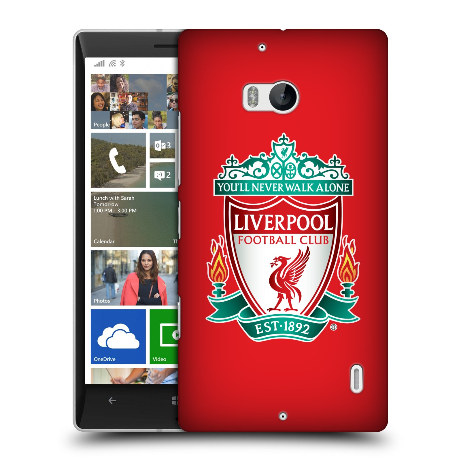 Plastové pouzdro na mobil Nokia Lumia 930 HEAD CASE ZNAK LIVERPOOL FC OFFICIAL RED (Kryt či obal na mobilní telefon Liverpool FC Official pro Nokia Lumia 930)